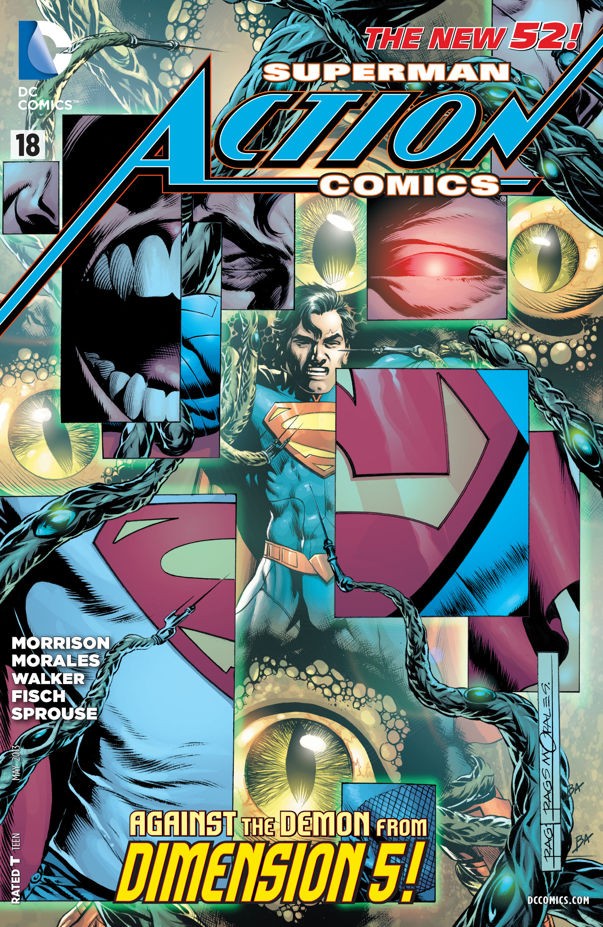 Read online Action Comics (2011) comic -  Issue #18 - 4