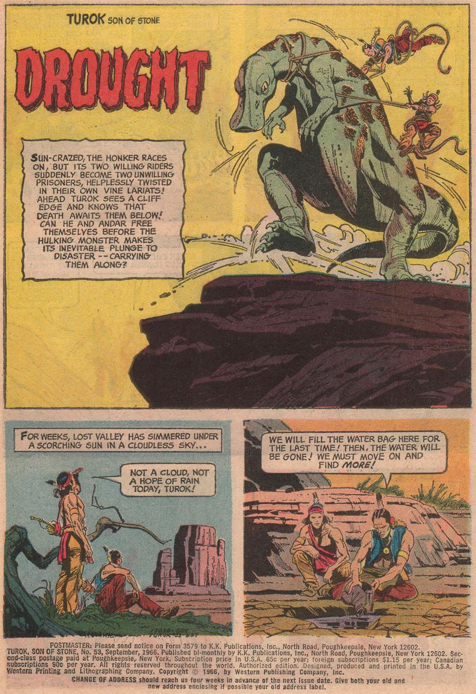 Read online Turok, Son of Stone comic -  Issue #53 - 3
