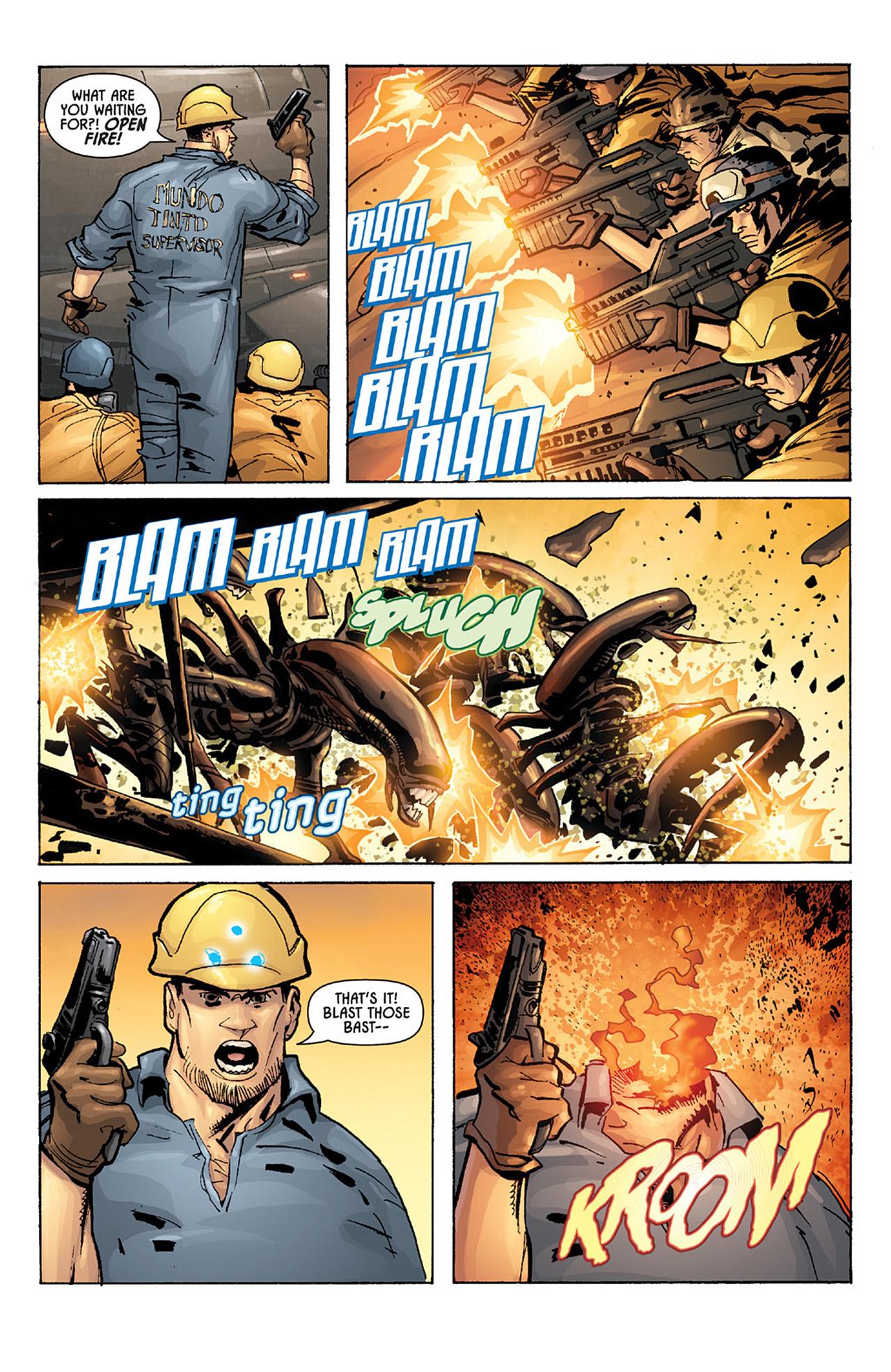 Read online Aliens vs. Predator: Three World War comic -  Issue #1 - 8