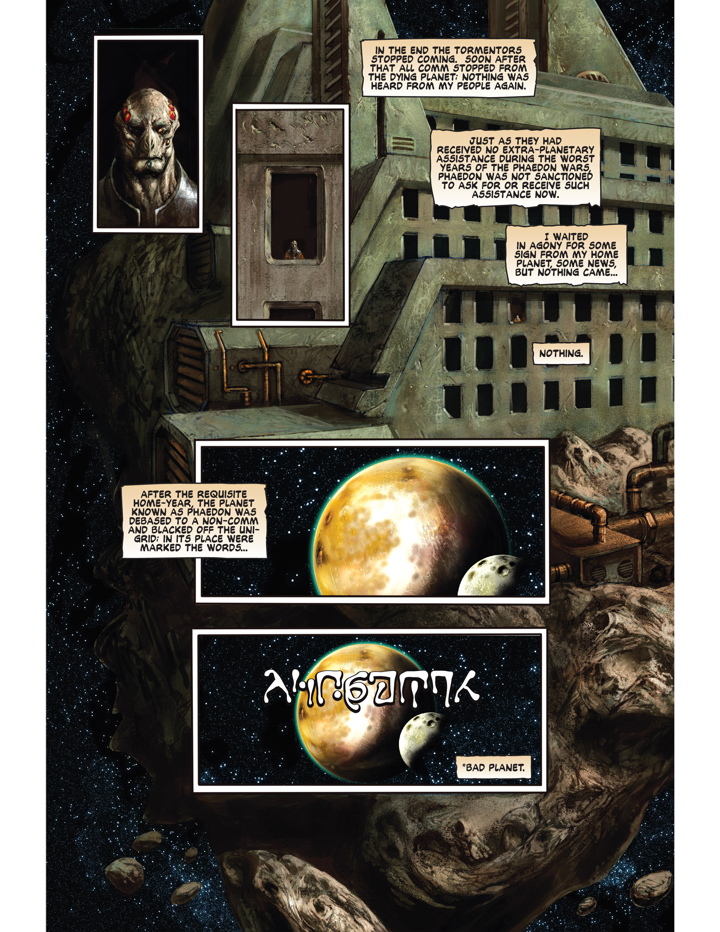 Read online Bad Planet comic -  Issue # TPB - 105