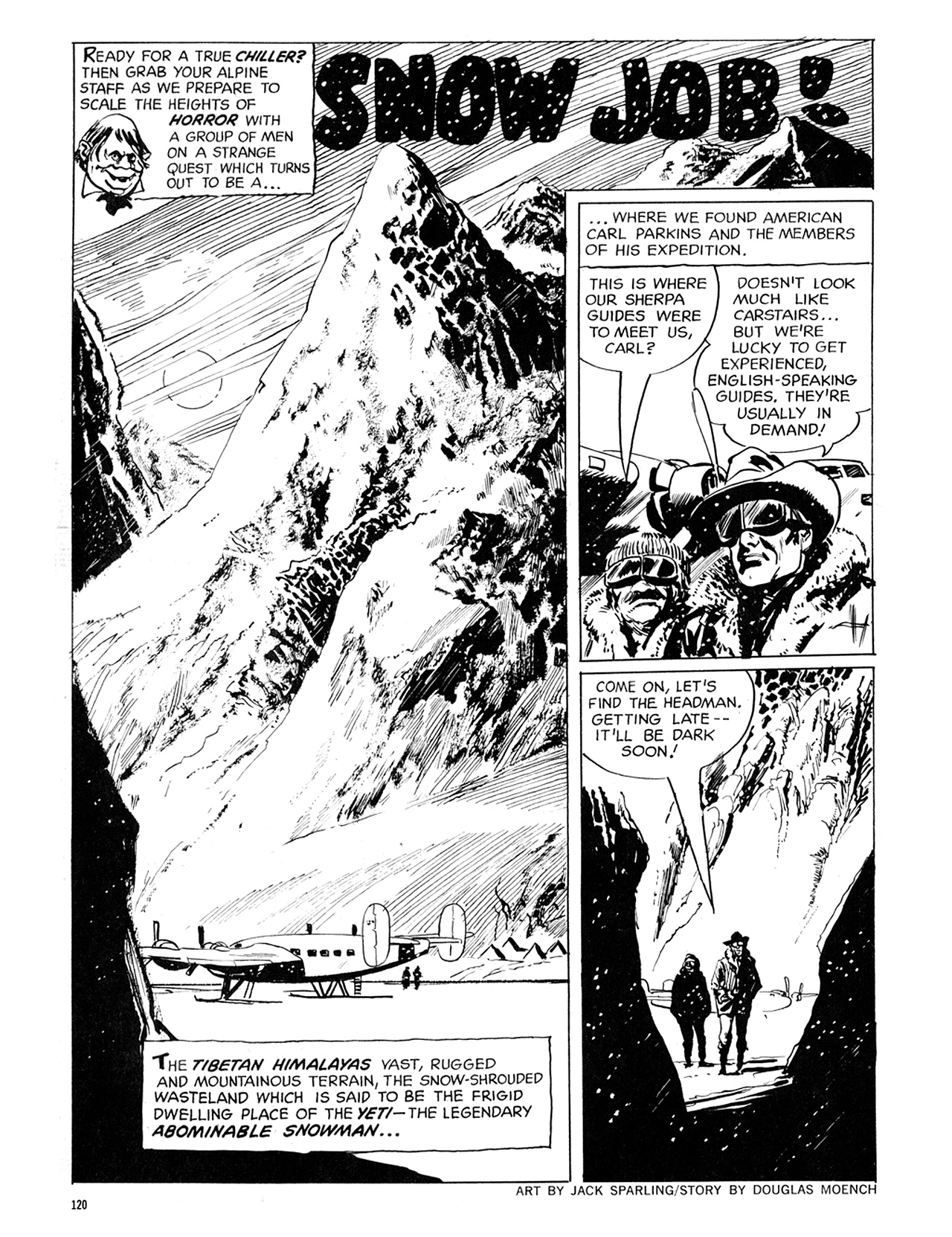 Read online Eerie Archives comic -  Issue # TPB 6 - 120