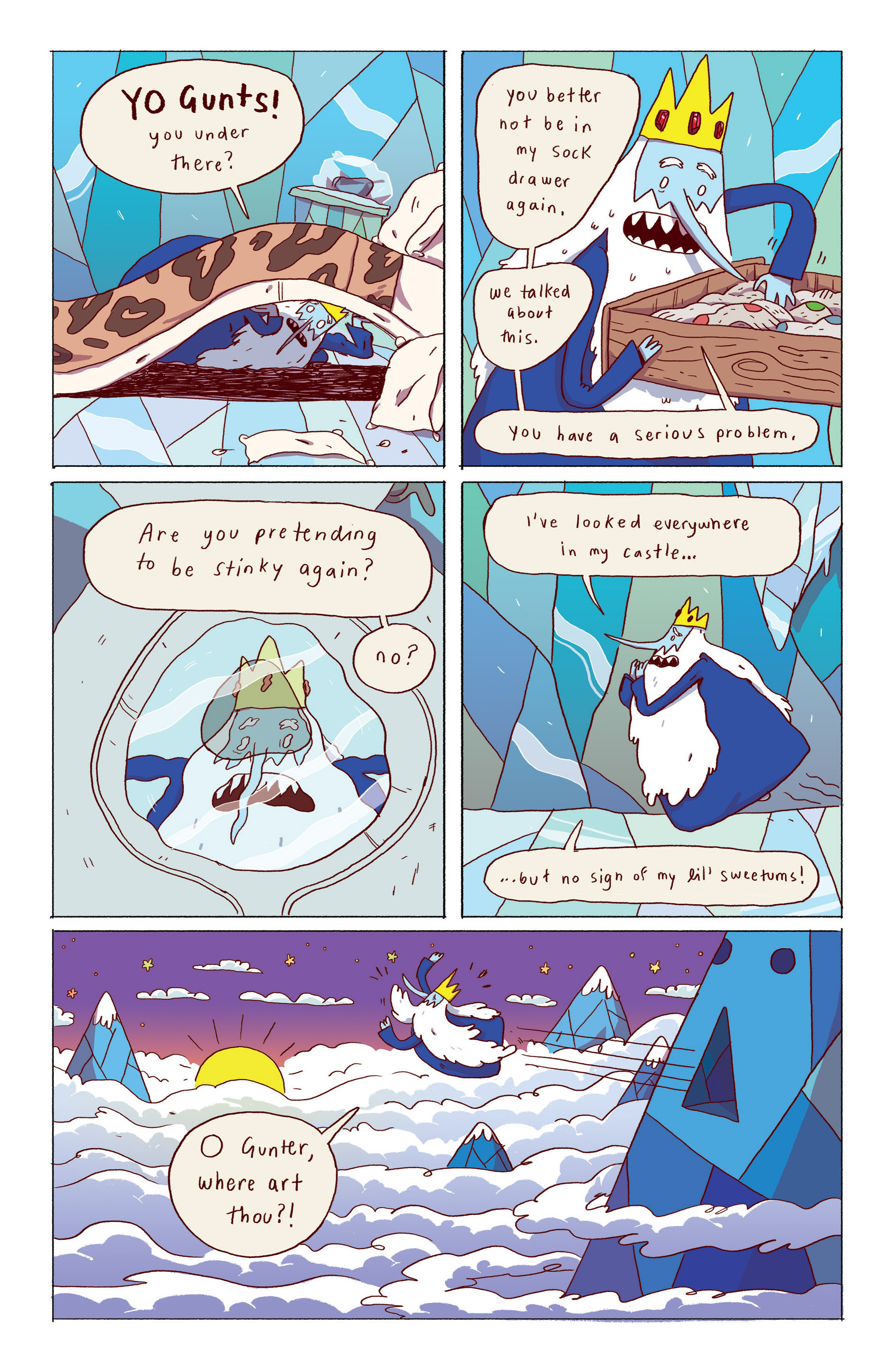 Read online Adventure Time: Ice King comic -  Issue #1 - 7