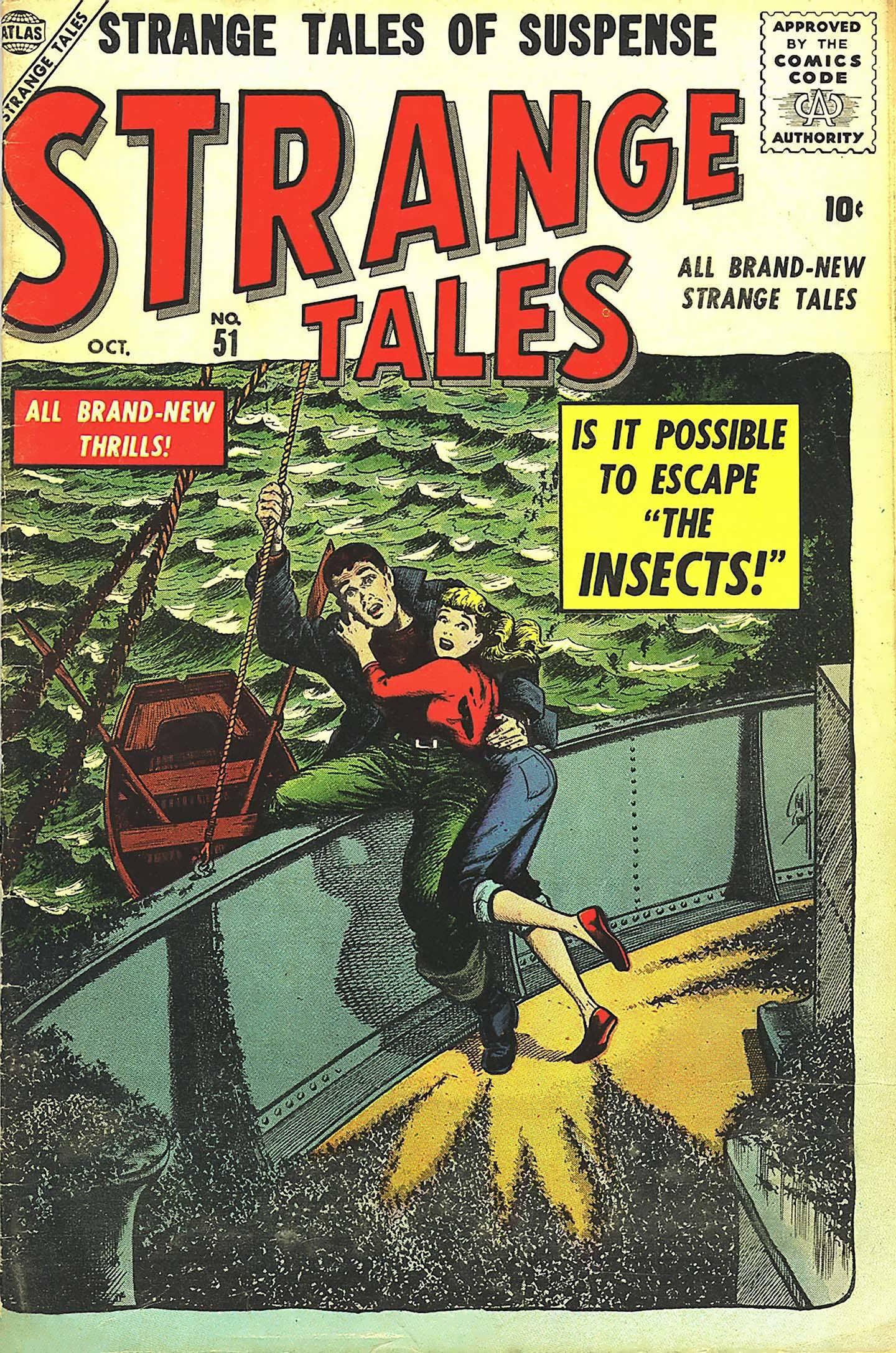 Strange Tales (1951) 51 Page 1