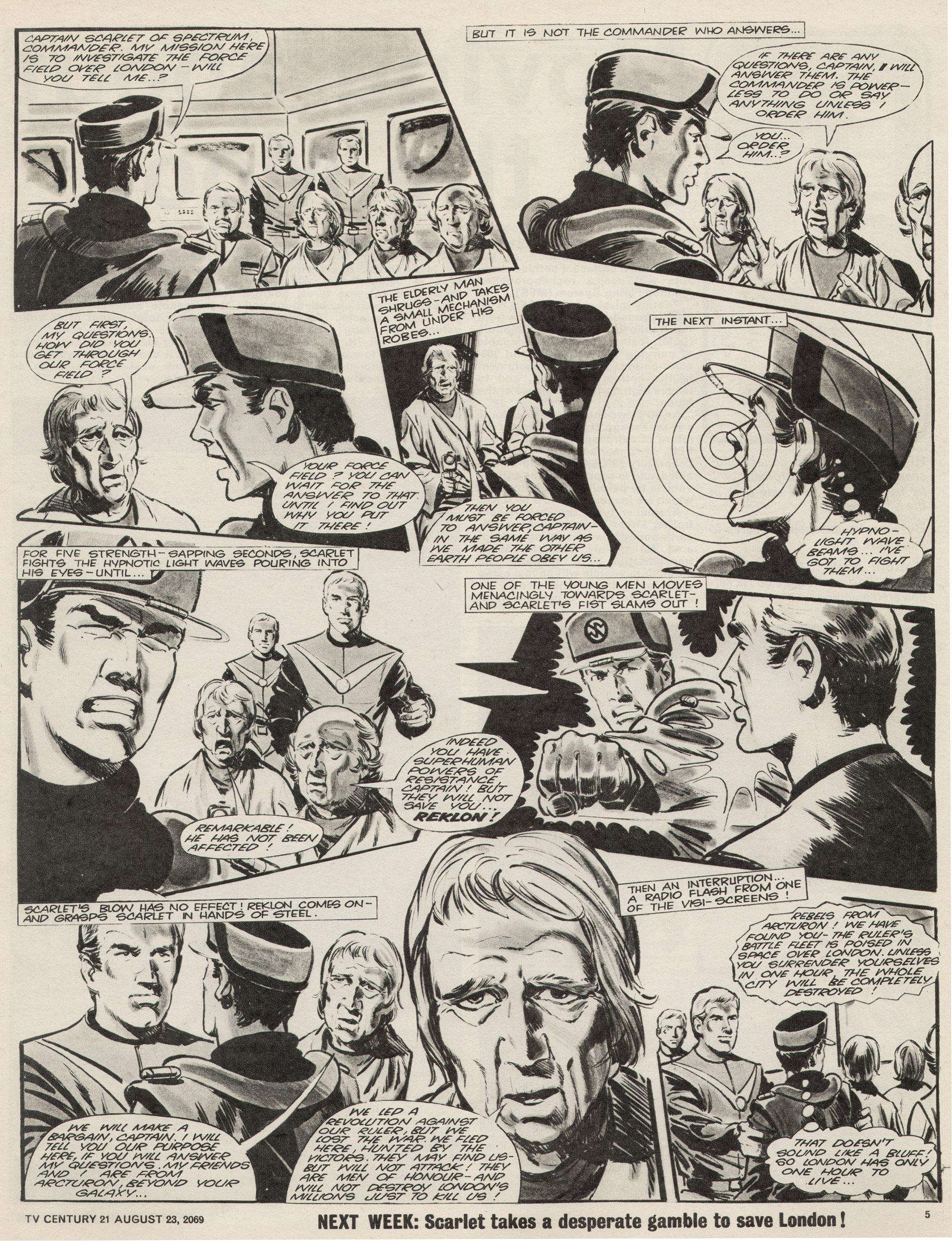 Read online TV Century 21 (TV 21) comic -  Issue #240 - 5