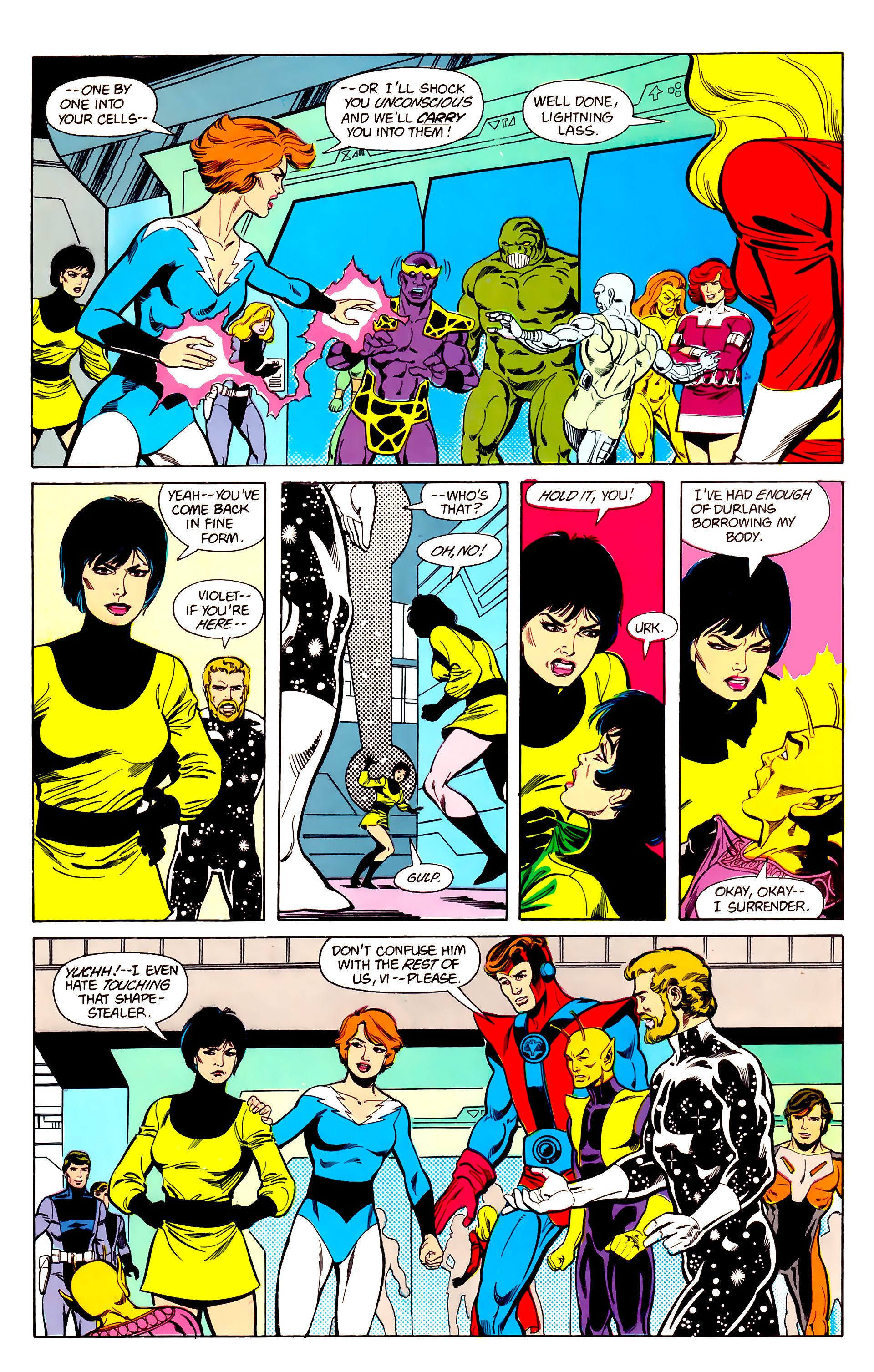 Legion of Super-Heroes (1984) 21 Page 21