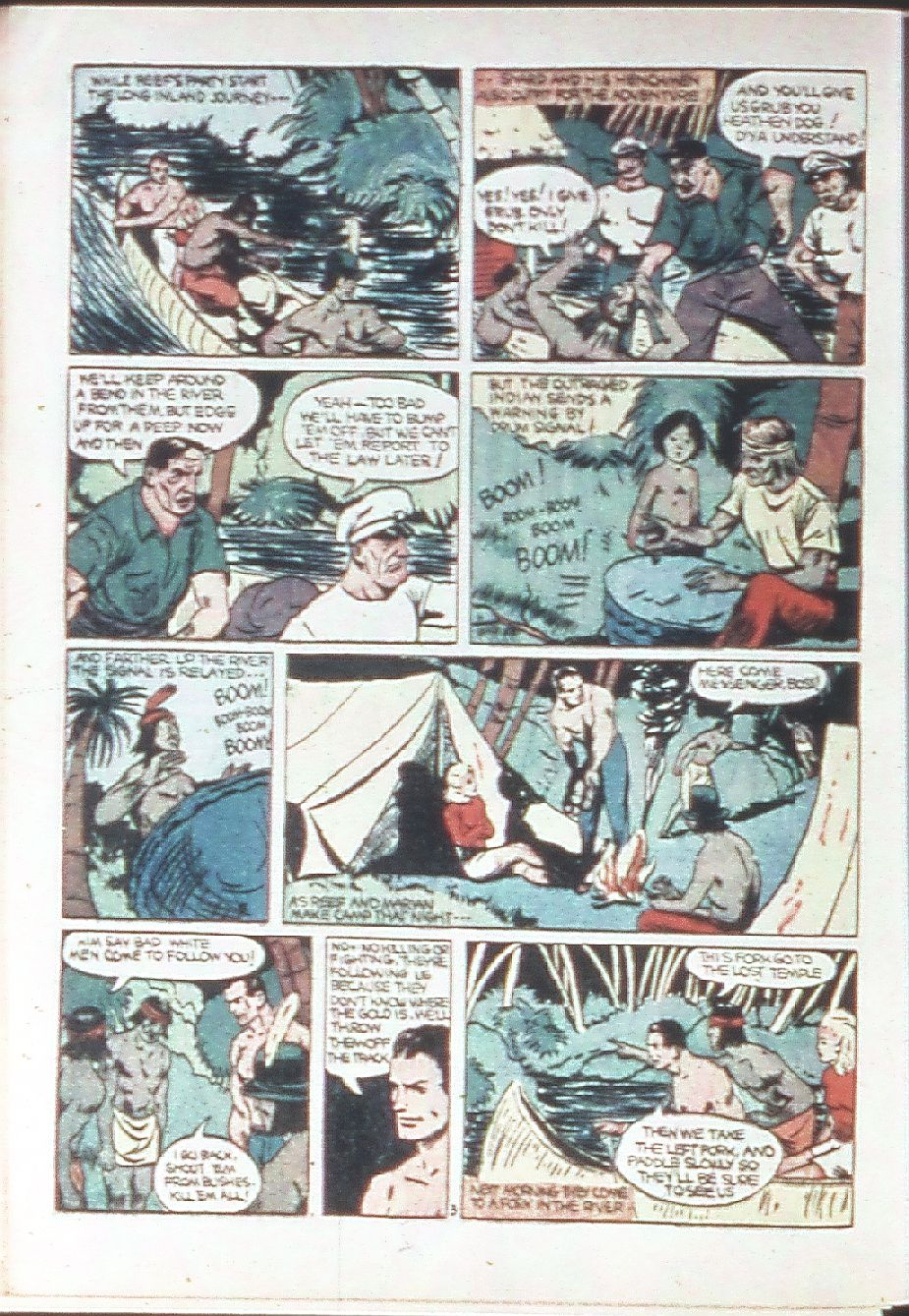 Read online Amazing Man Comics comic -  Issue #18 - 52