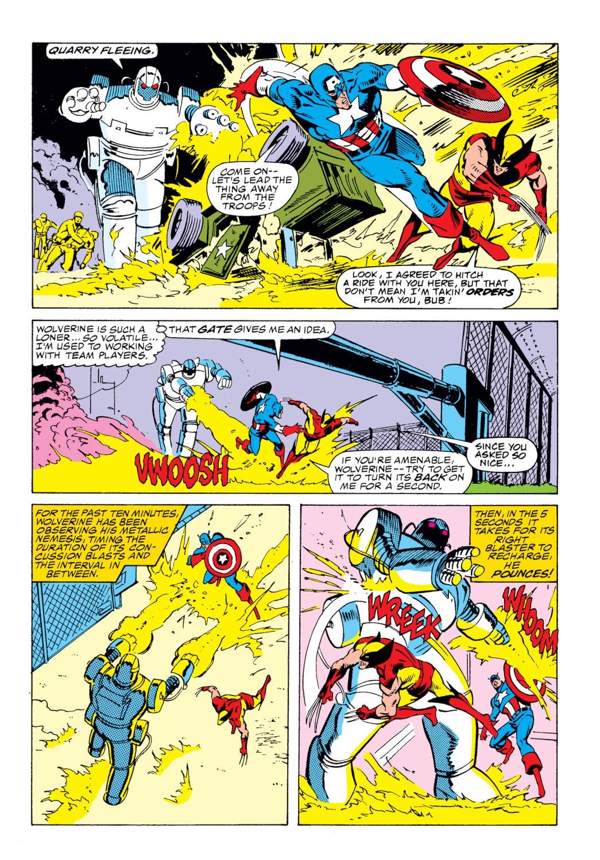 Read online Captain America (1968) comic -  Issue # _Annual 8 - 36