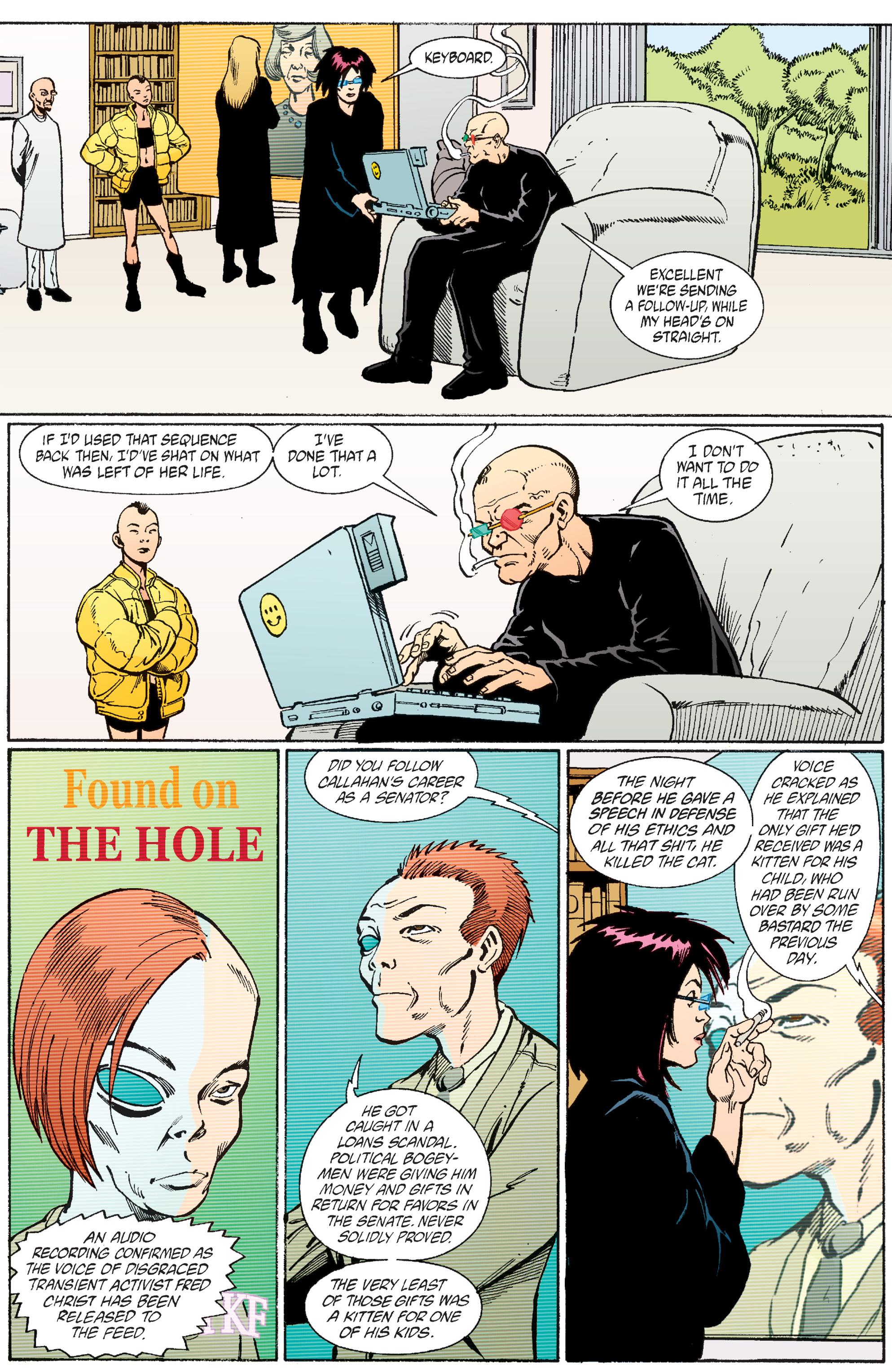 Read online Transmetropolitan comic -  Issue #56 - 11