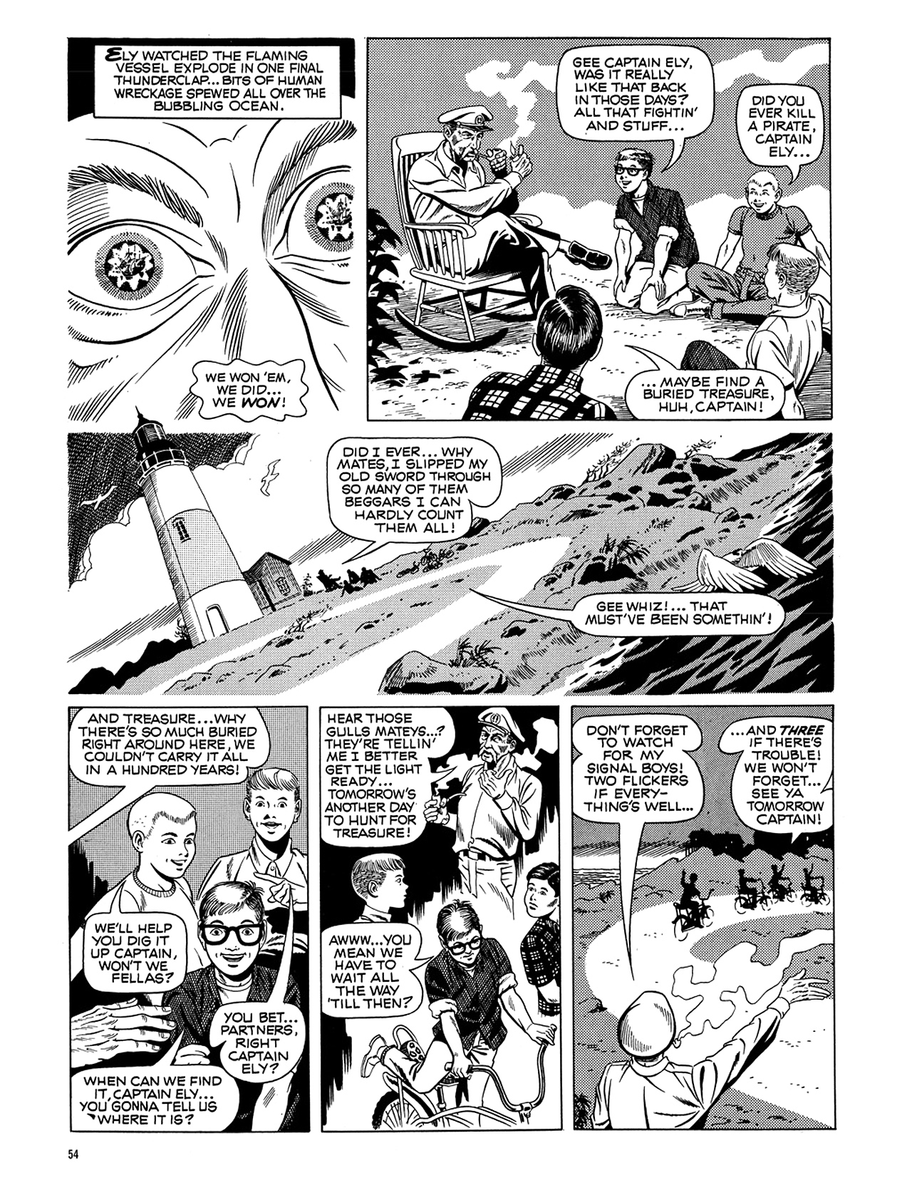 Read online Eerie Archives comic -  Issue # TPB 5 - 55