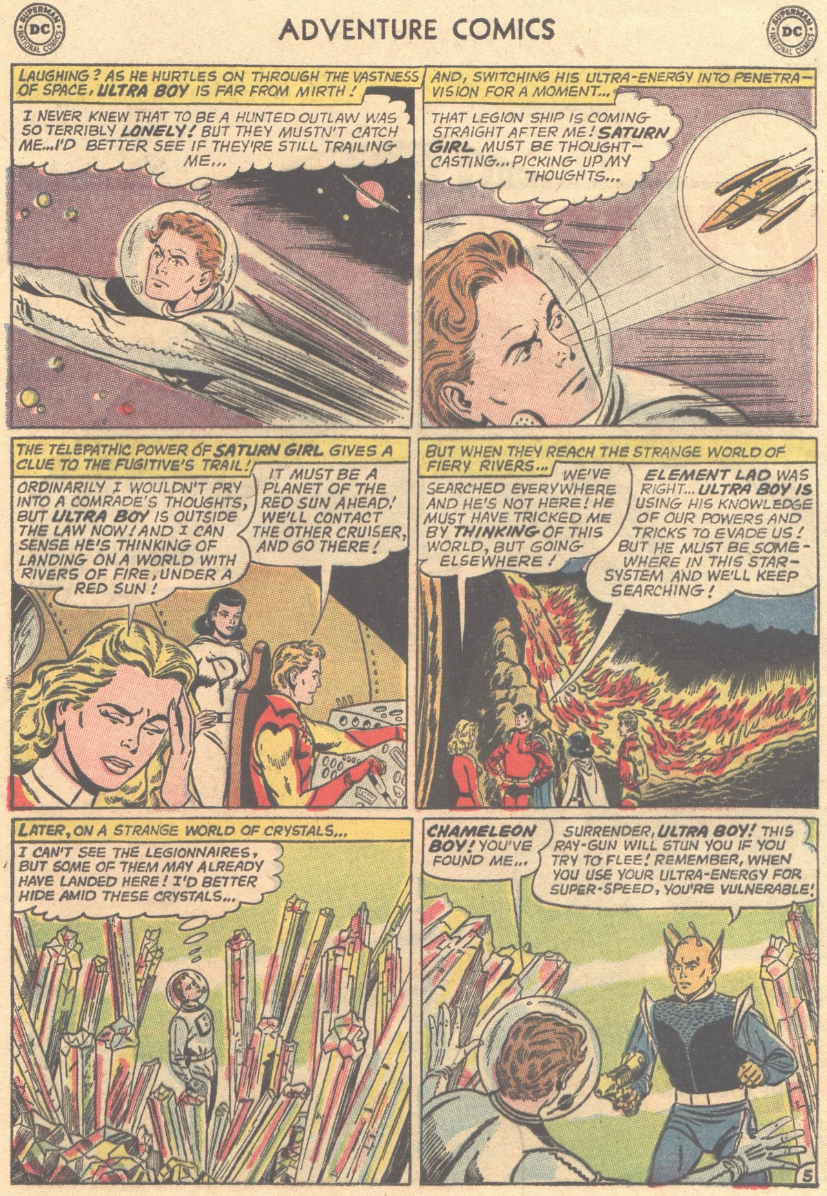 Read online Adventure Comics (1938) comic -  Issue #316 - 20