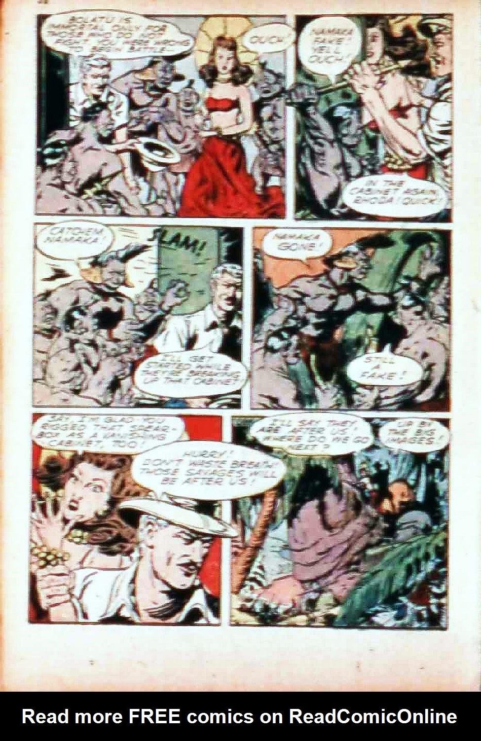 Read online Super-Magician Comics comic -  Issue #17 - 32