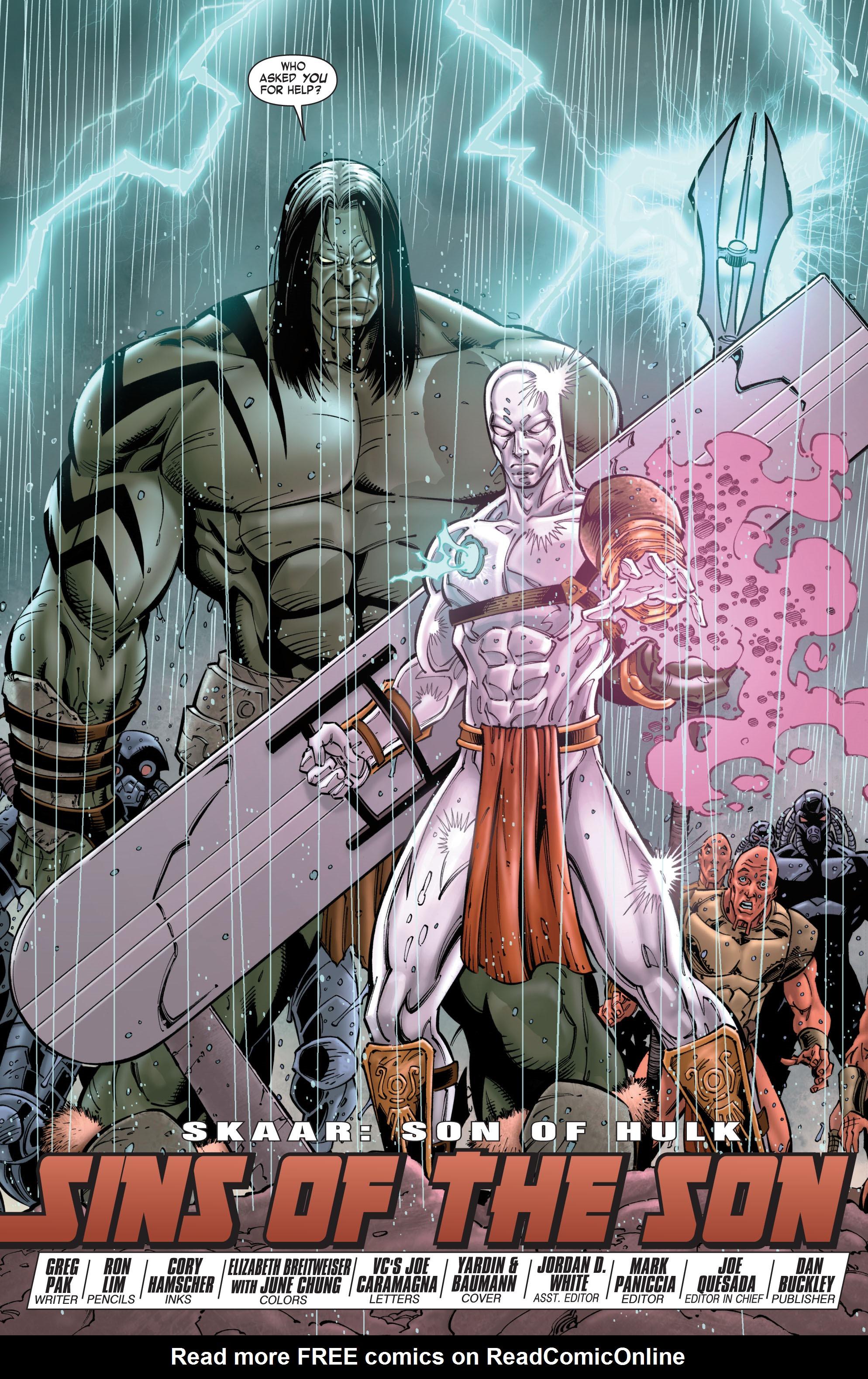 Read online Skaar: Son of Hulk comic -  Issue #8 - 5