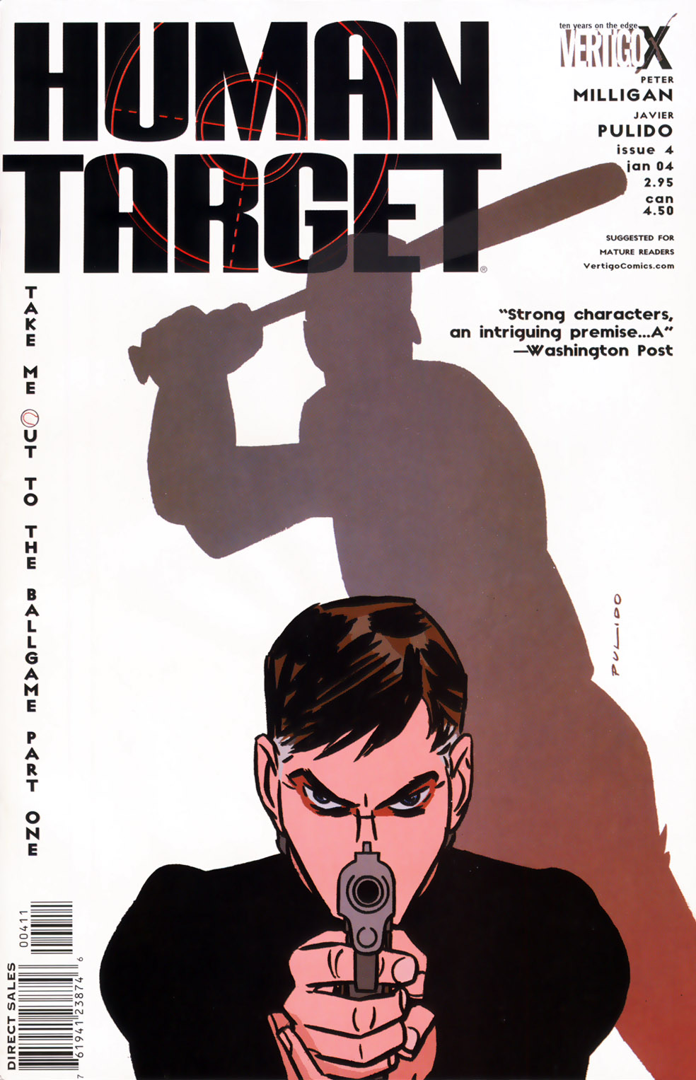 Human Target (2003) issue 4 - Page 1