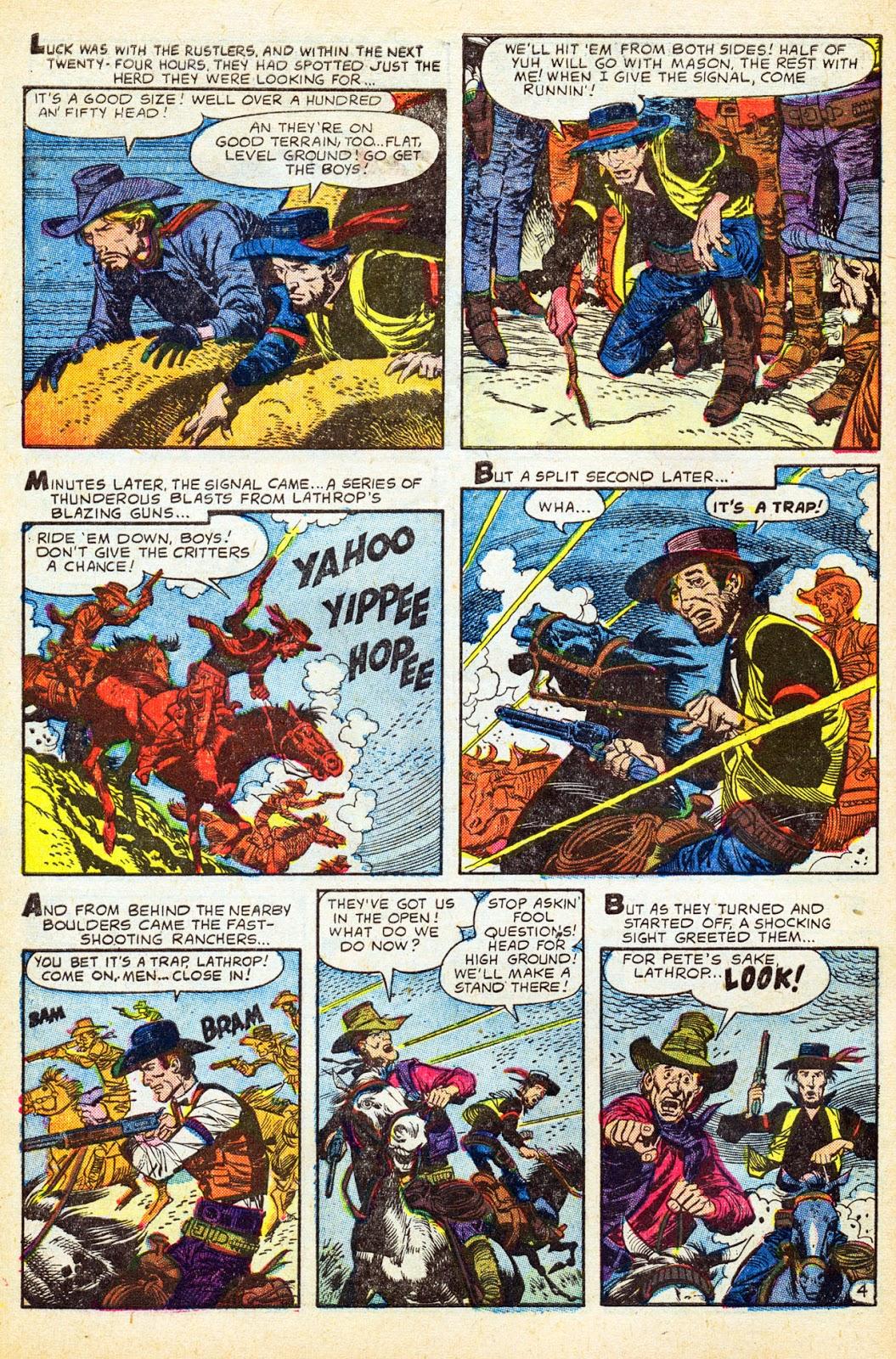 Gunsmoke Western issue 37 - Page 6