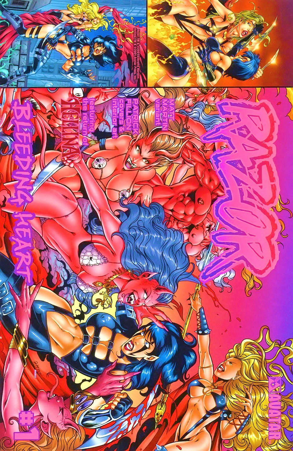 Read online Avengelyne: Dragon Realm comic -  Issue #1 - 28