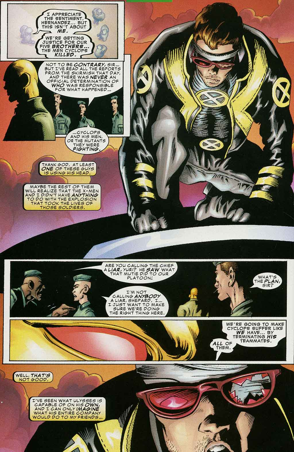 Read online Cyclops (2001) comic -  Issue #4 - 7