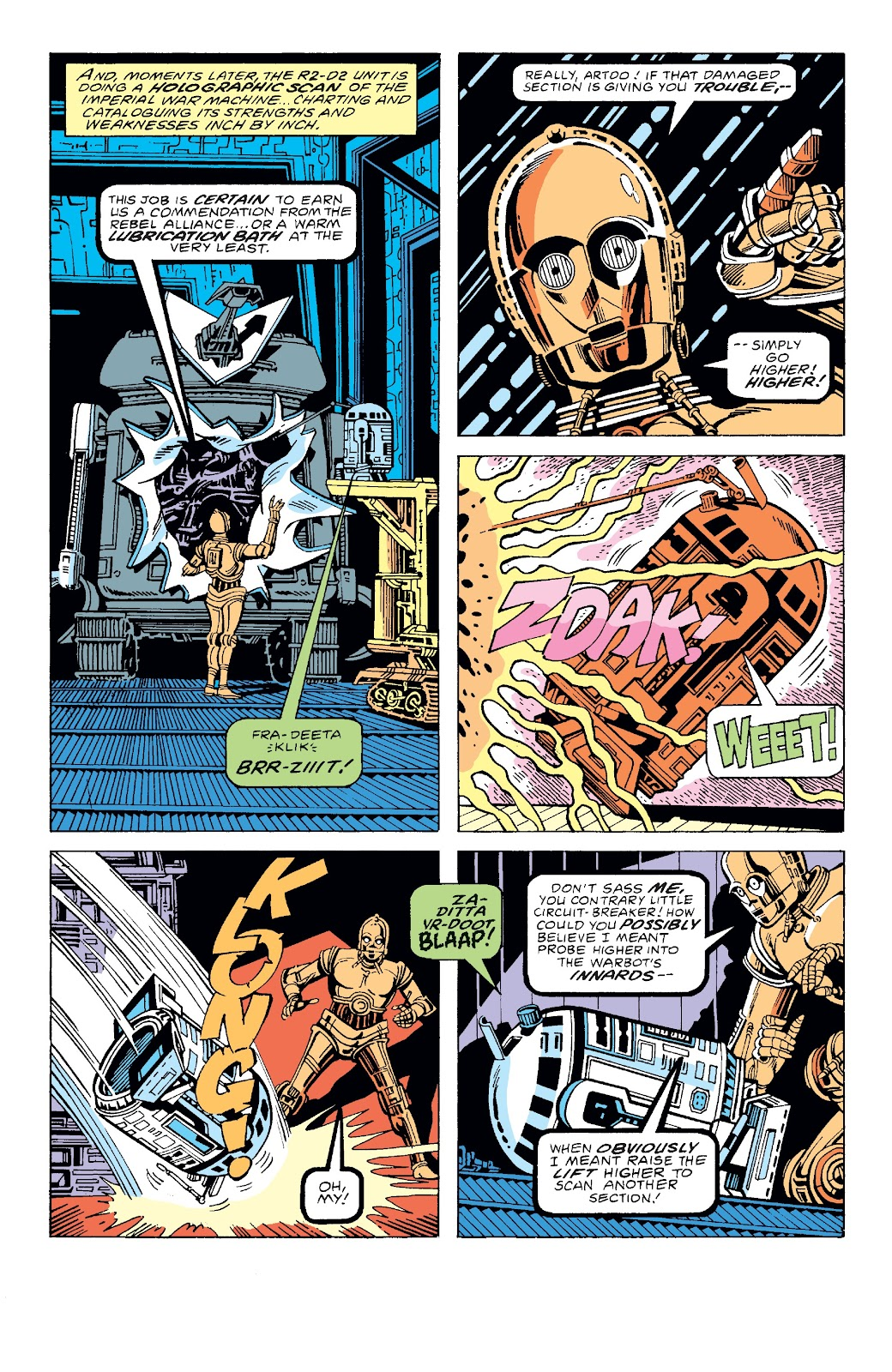 Read online Star Wars Legends: The Original Marvel Years - Epic Collection comic -  Issue # TPB 3 (Part 2) - 64