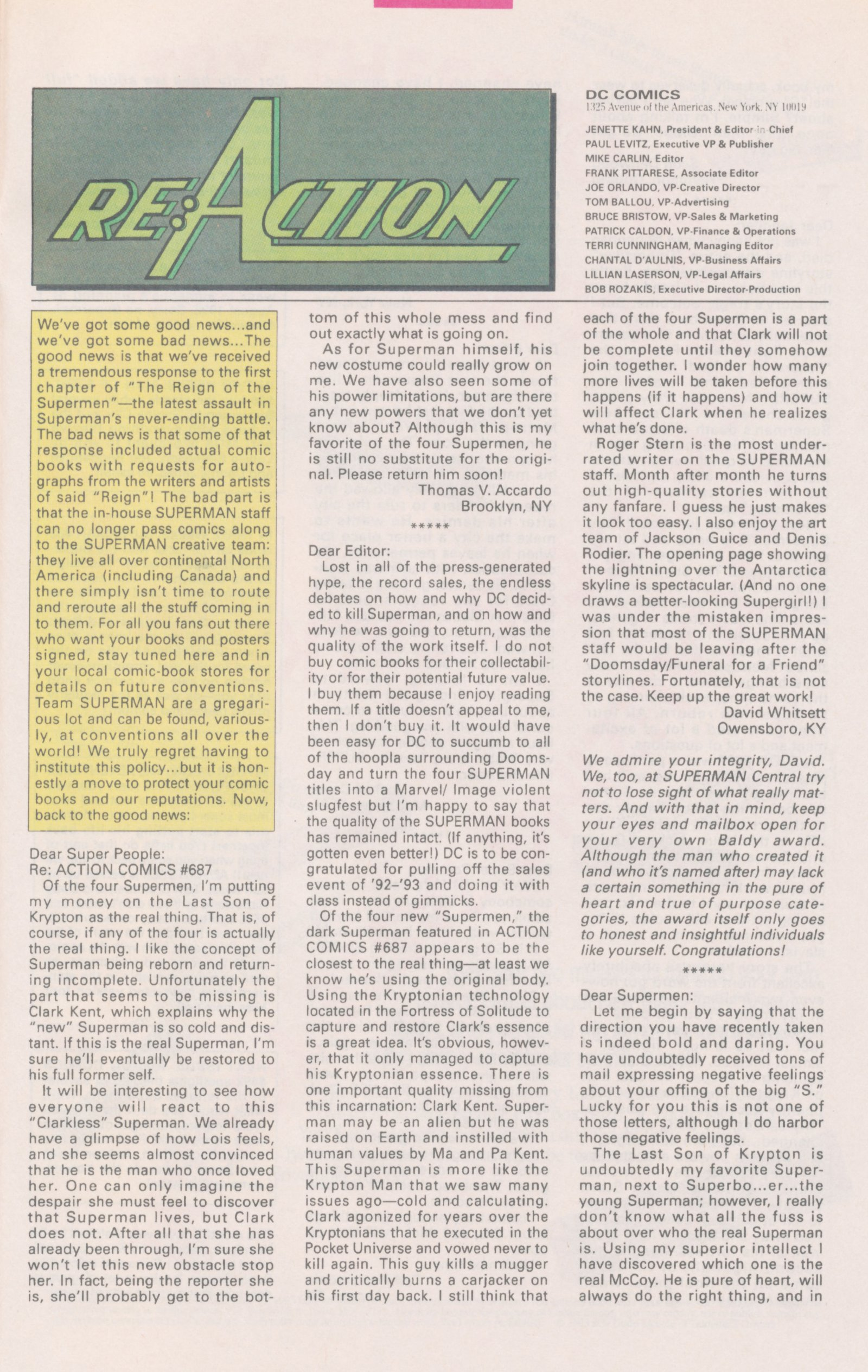 Action Comics (1938) 691 Page 31