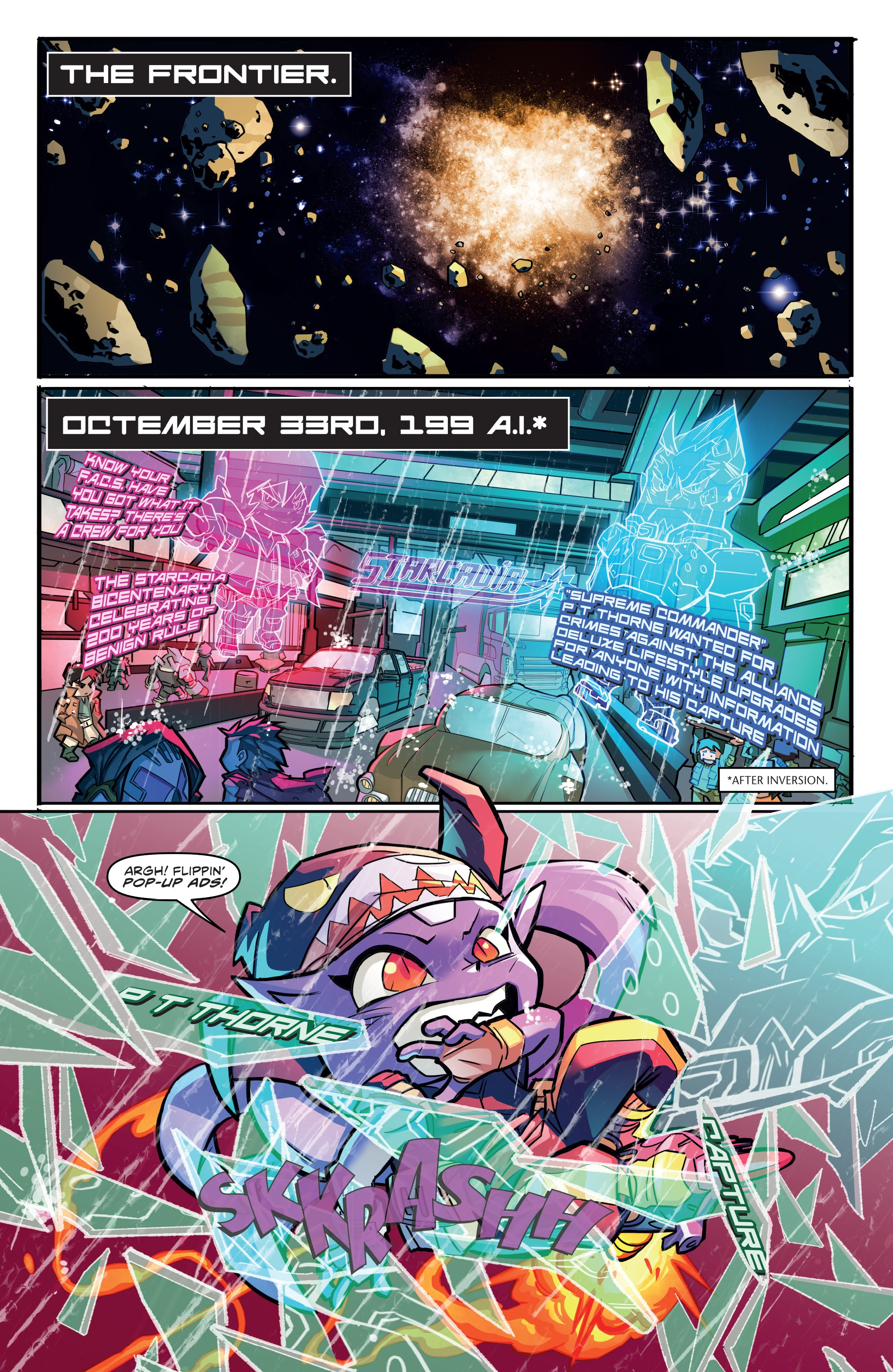 Read online Starcadia Quest comic -  Issue #1 - 3