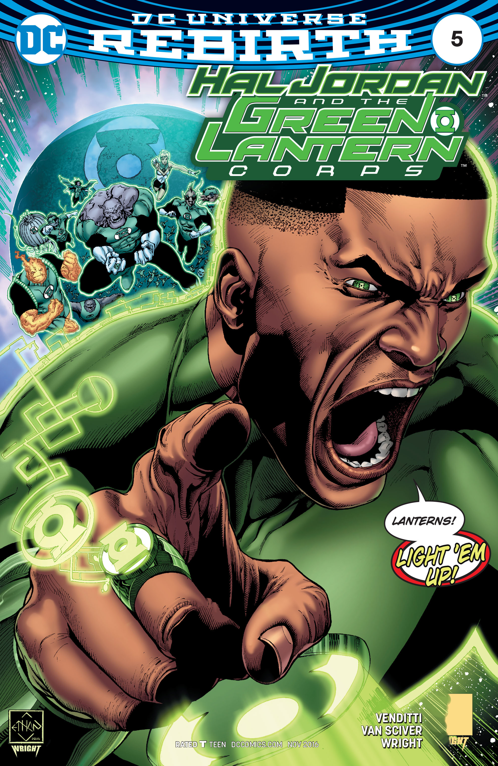 Hal Jordan And The Green Lantern Corps 5 Page 1
