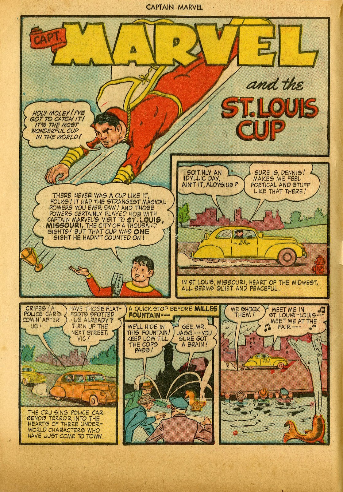 Captain Marvel Adventures issue 36 - Page 4