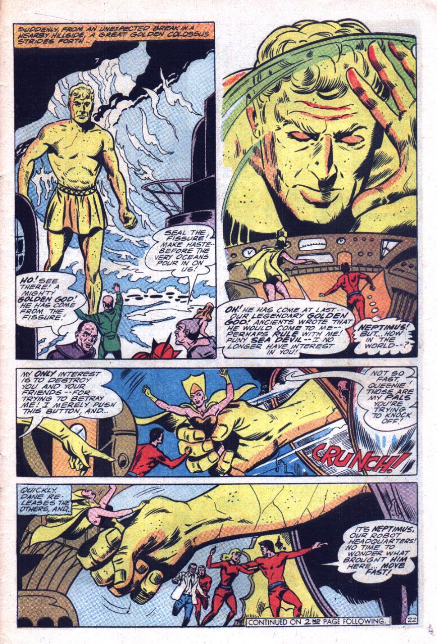 Read online Sea Devils comic -  Issue #29 - 30