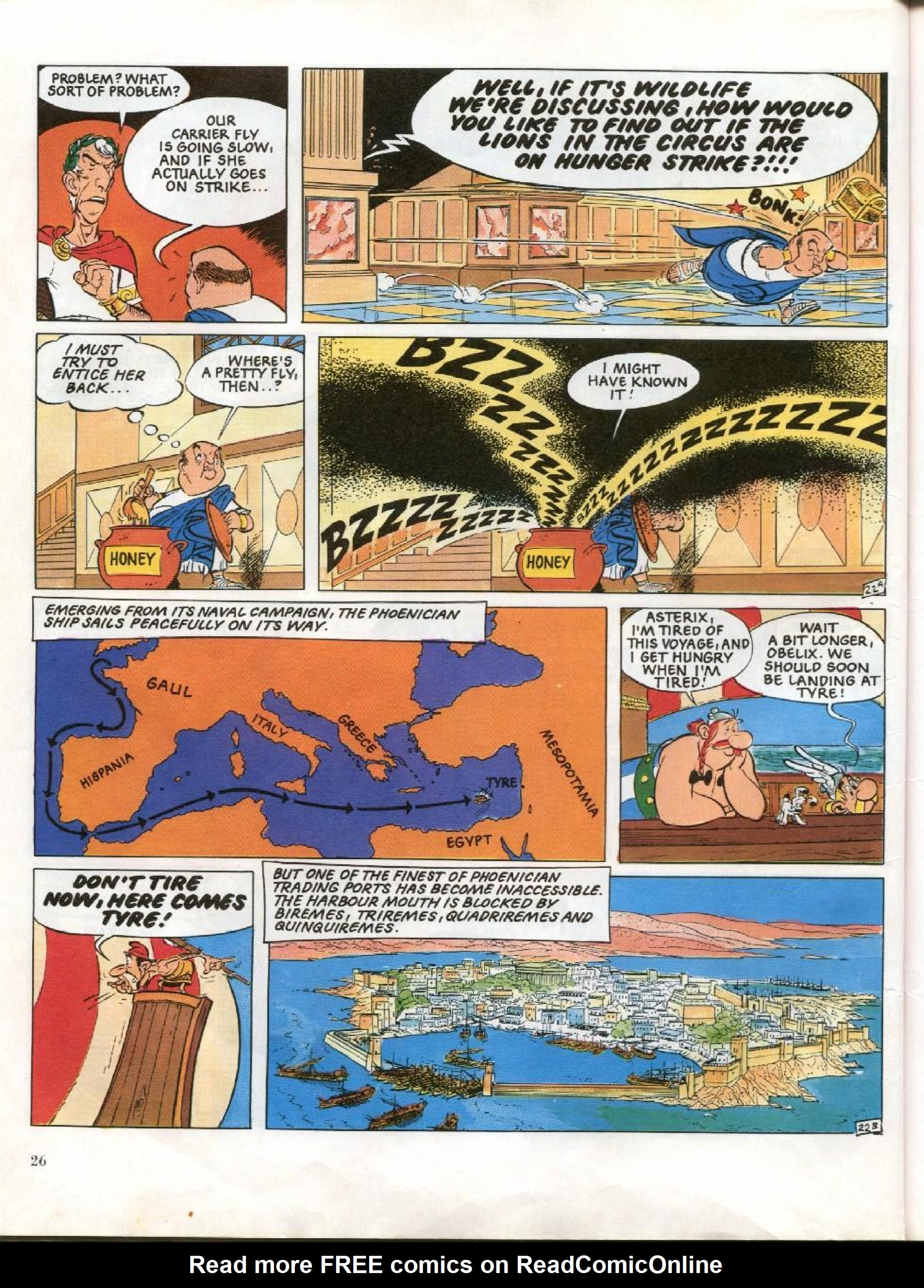 Read online Asterix comic -  Issue #26 - 23