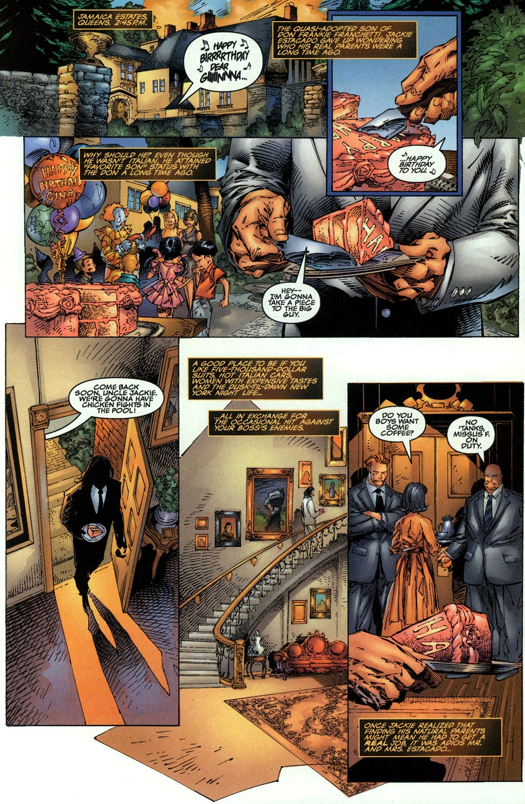 Read online The Darkness (1996) comic -  Issue #0 - 11