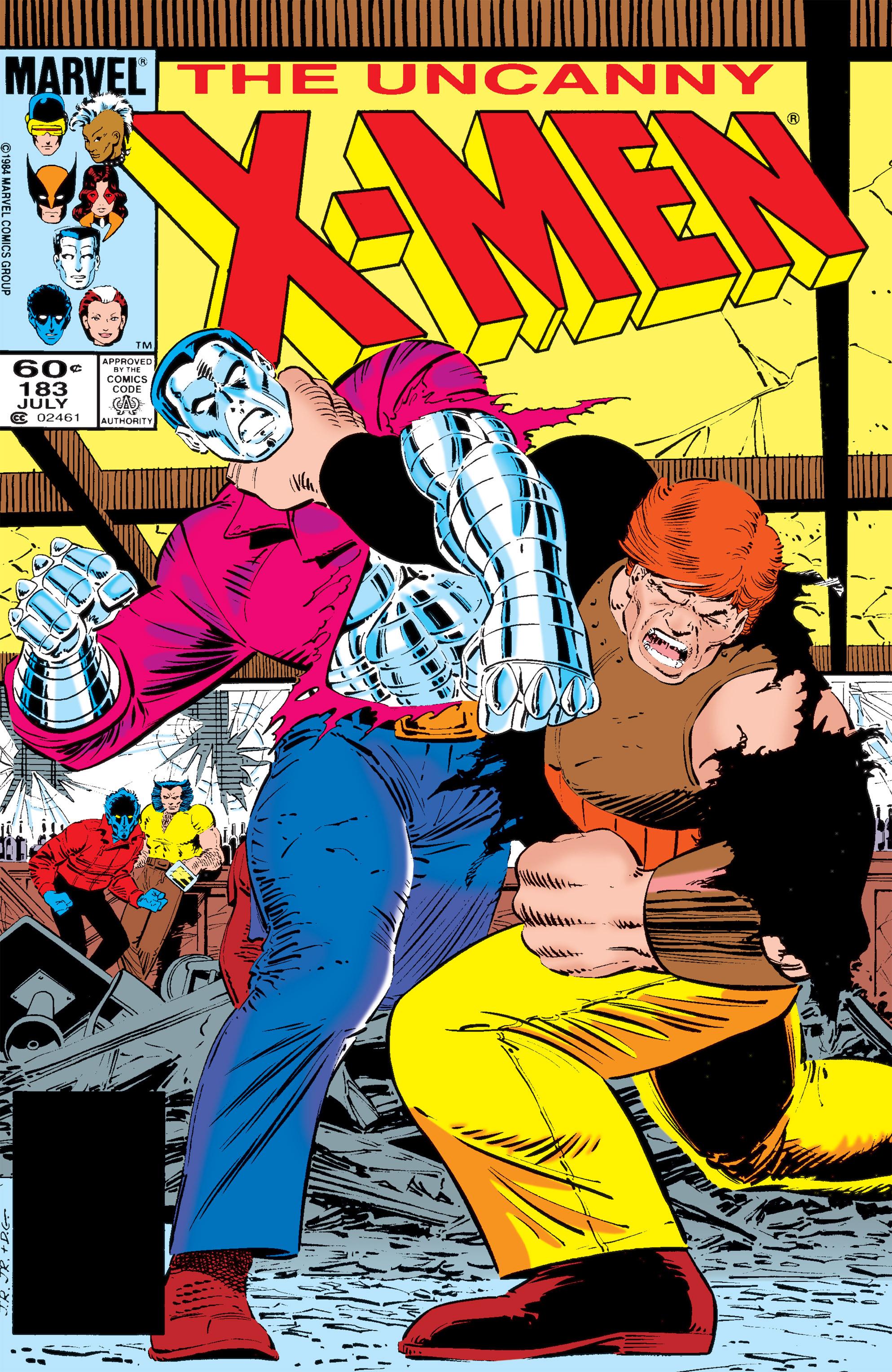 Uncanny X-Men (1963) 183 Page 1