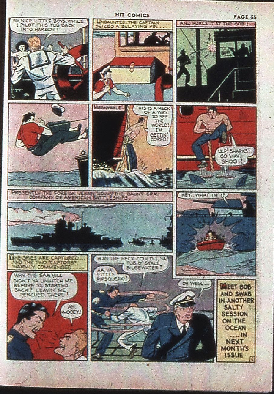 Read online Hit Comics comic -  Issue #4 - 57