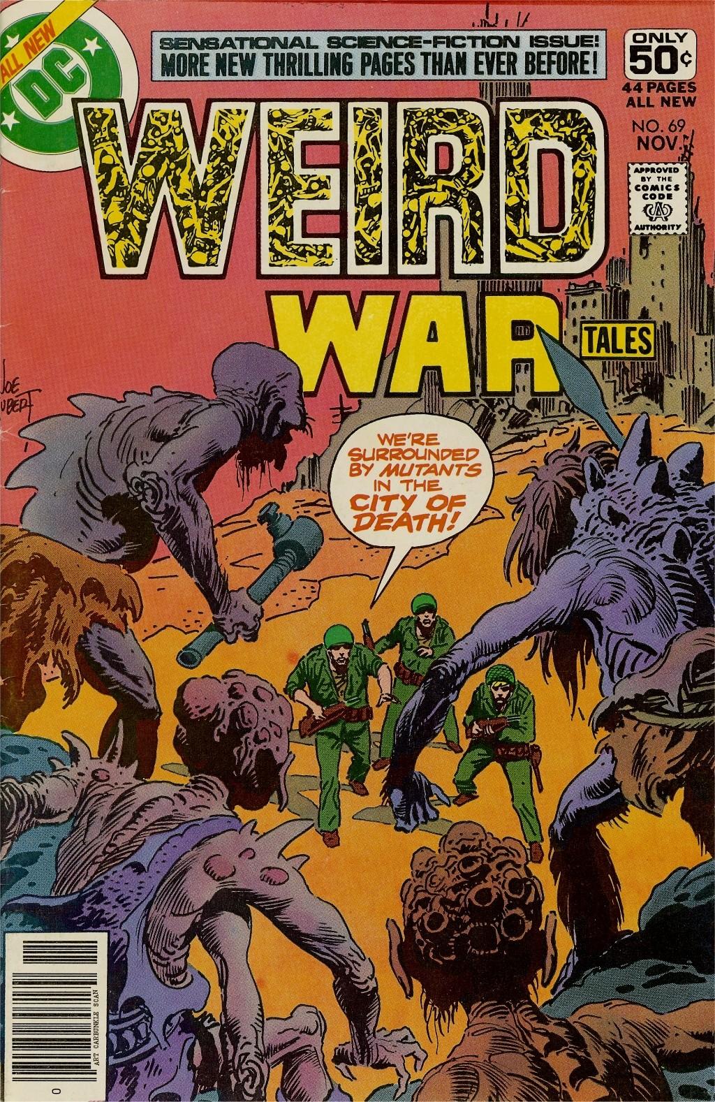 Weird War Tales (1971) issue 69 - Page 1
