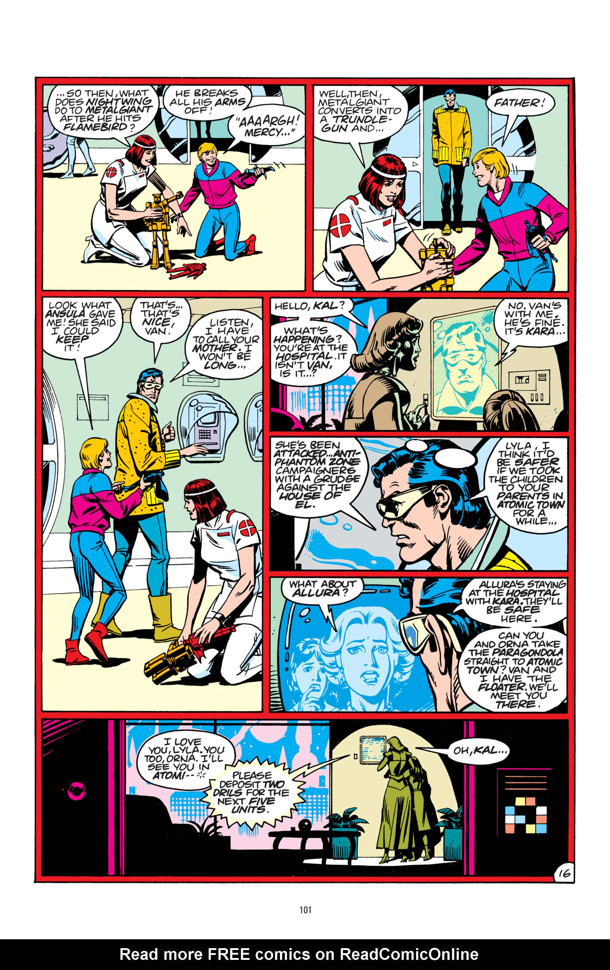 Read online Superman: Whatever Happened to the Man of Tomorrow? comic -  Issue # TPB - 100