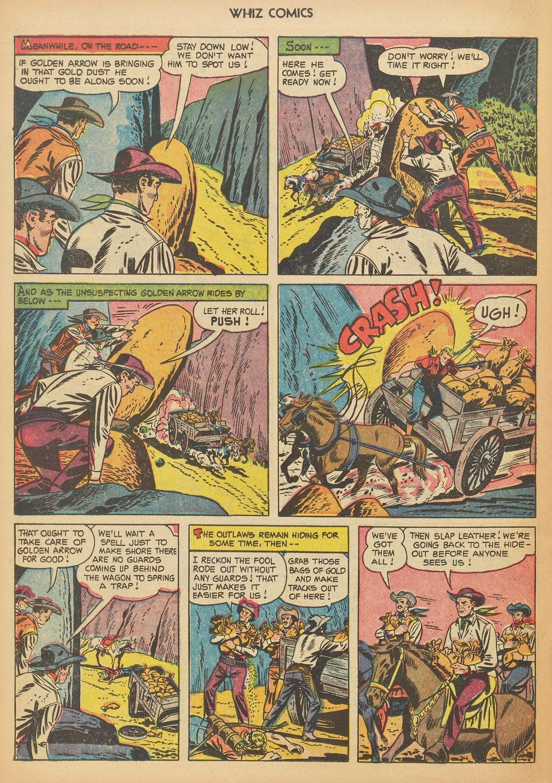 Read online WHIZ Comics comic -  Issue #153 - 22