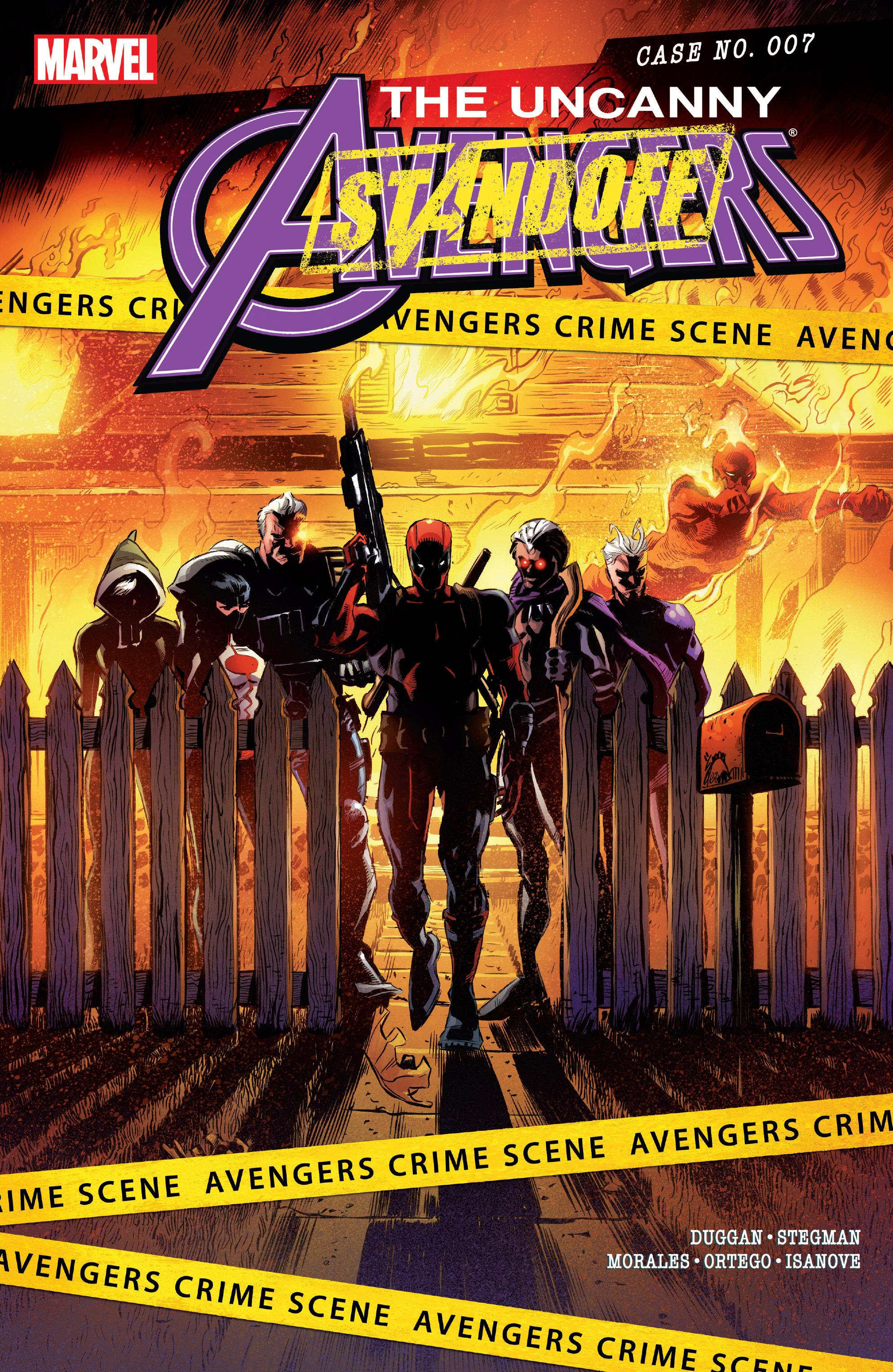 Read online Uncanny Avengers [II] comic -  Issue #7 - 1