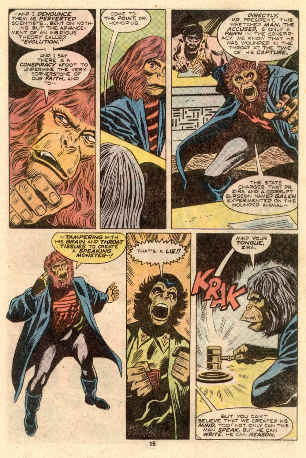 Read online Adventures on the Planet of the Apes comic -  Issue #4 - 10