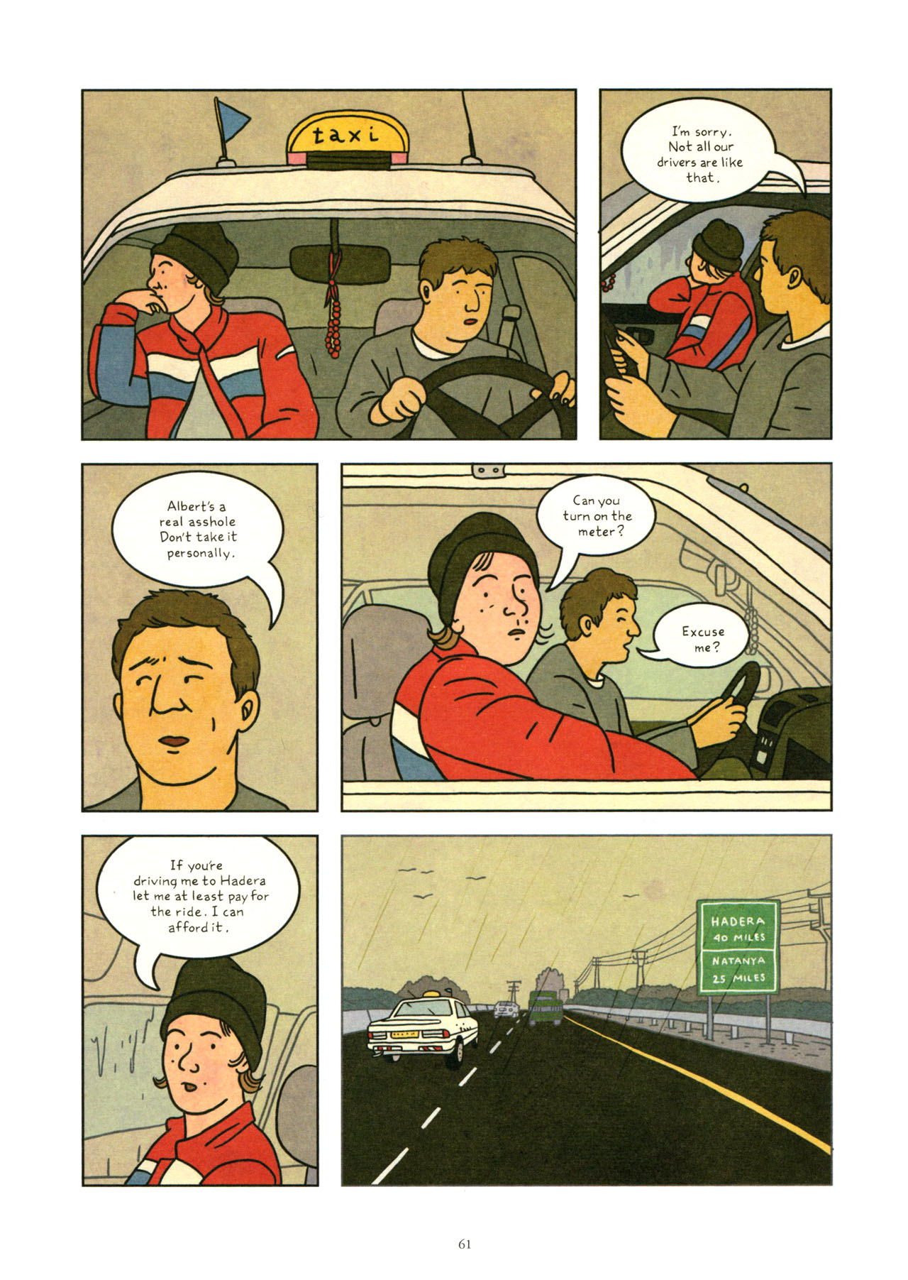 Read online Exit Wounds comic -  Issue # TPB - 62