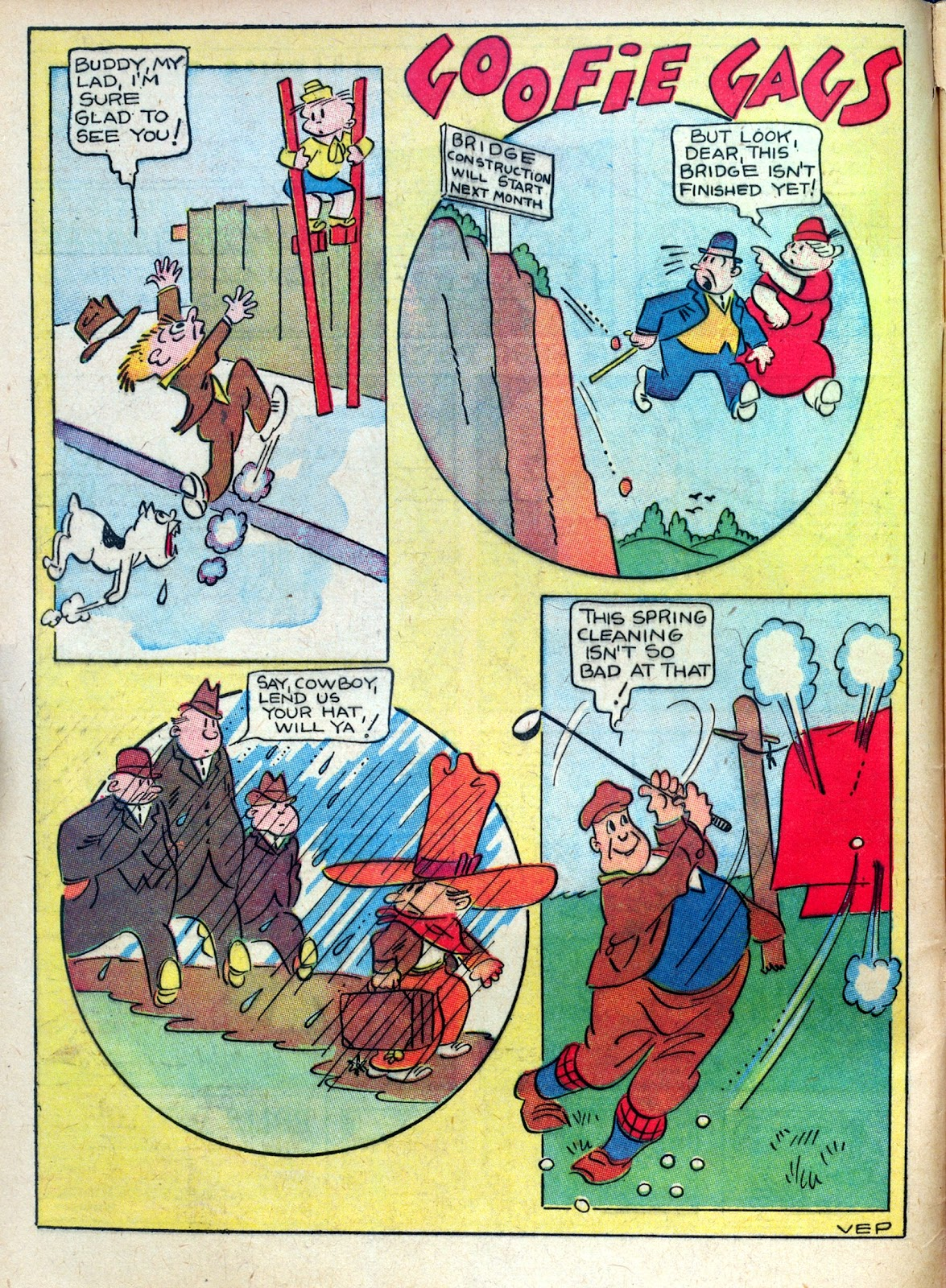 Read online Famous Funnies comic -  Issue #45 - 4