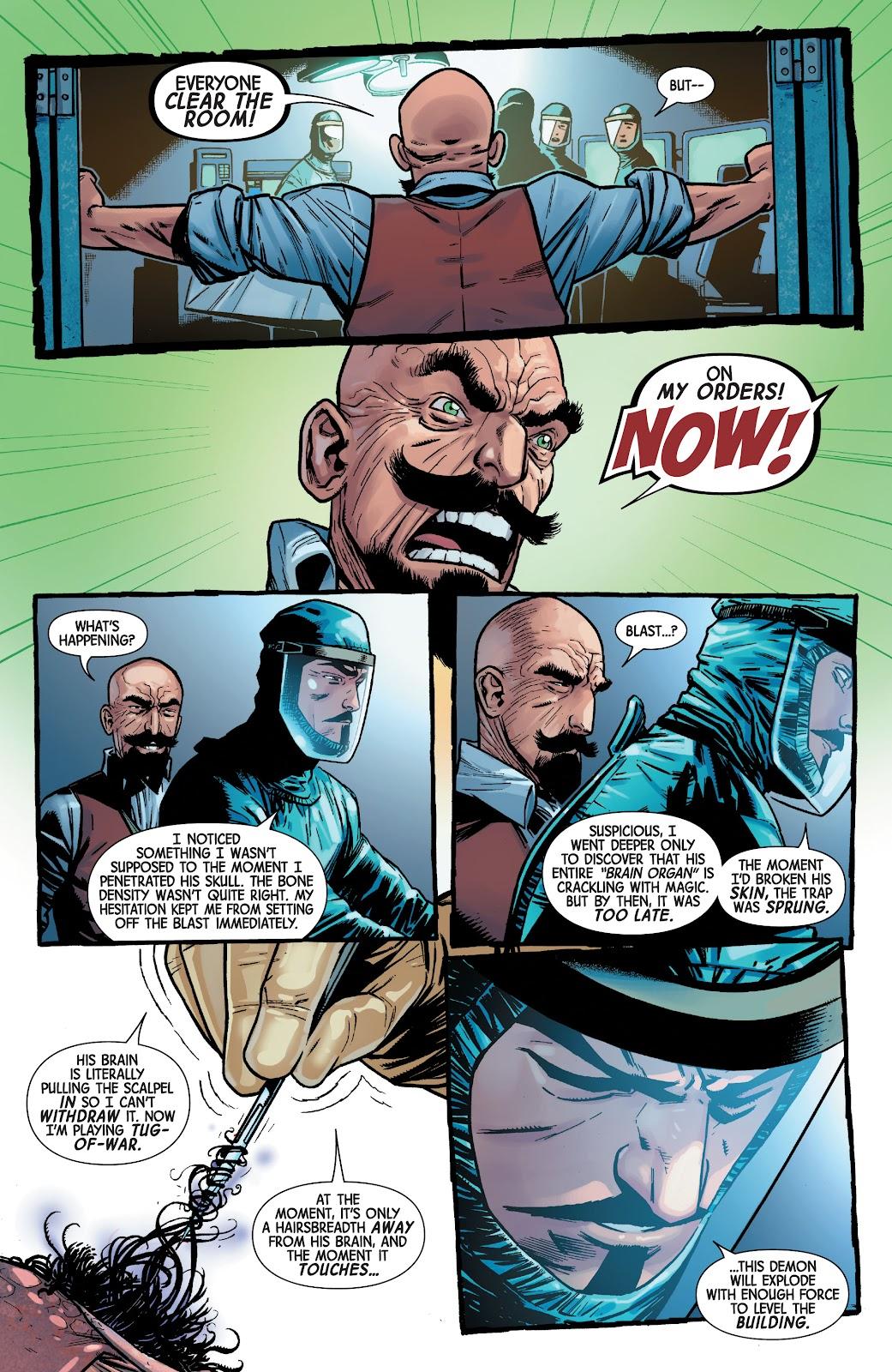 Read online Dr. Strange comic -  Issue #4 - 15