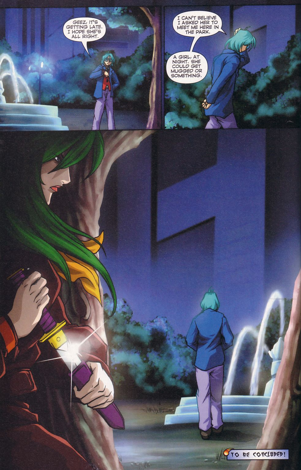 Read online Robotech: Love and War comic -  Issue #5 - 16