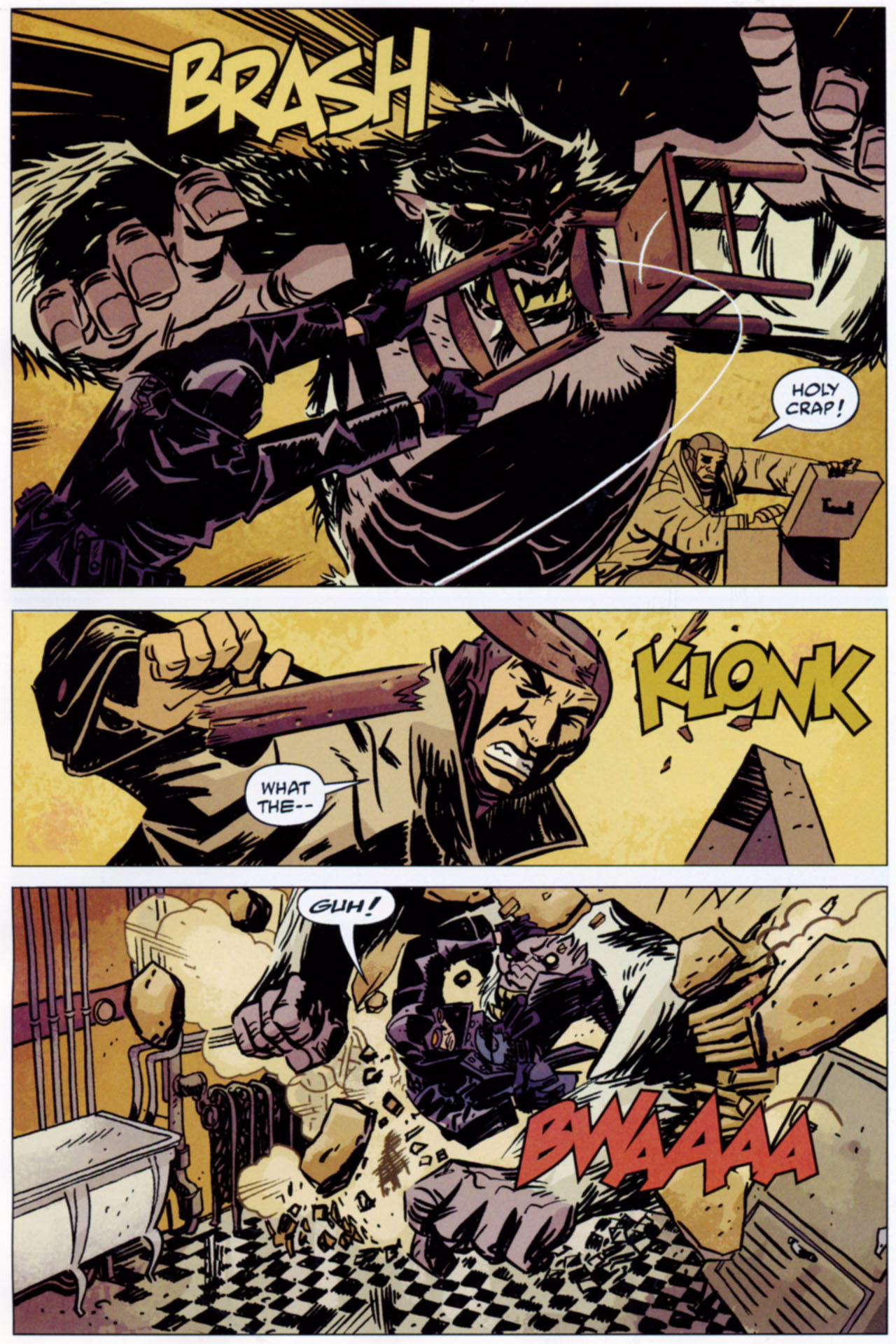 Read online Lobster Johnson: The Iron Prometheus comic -  Issue #1 - 7