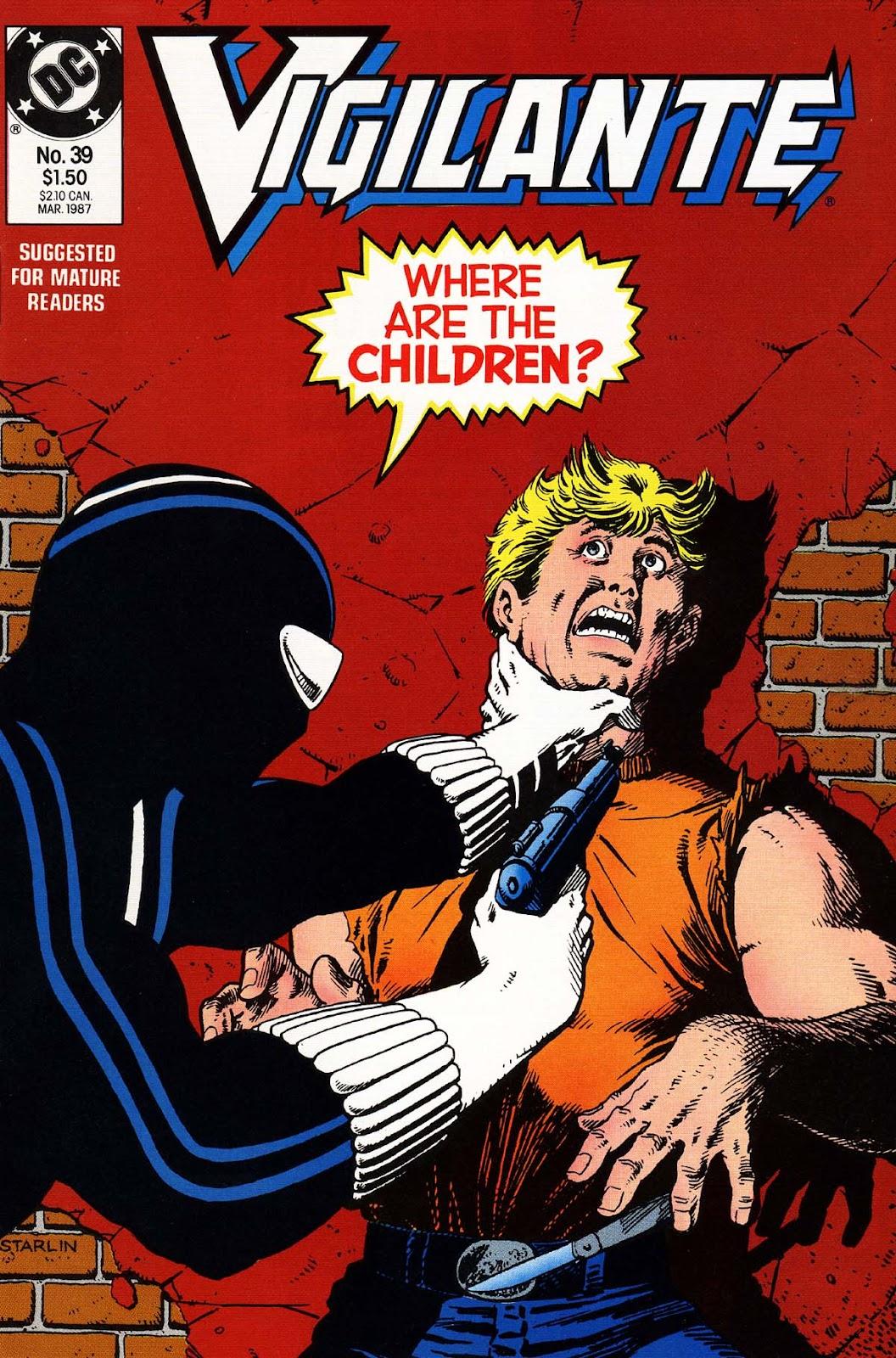 Vigilante (1983) issue 39 - Page 1