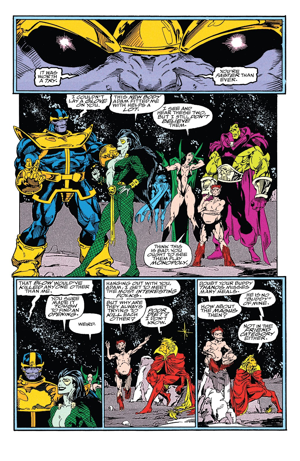 Read online Marvel Tales: Thanos comic -  Issue # Full - 66