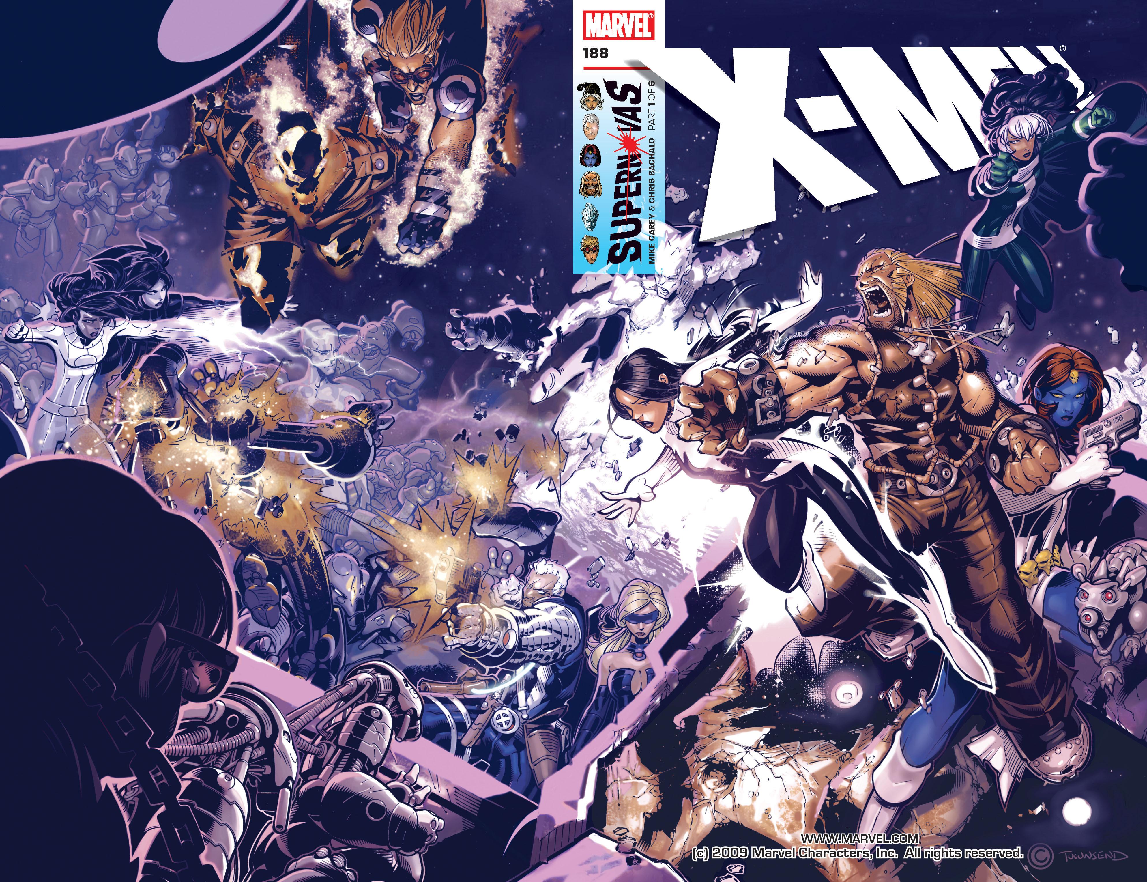 X-Men (1991) 188 Page 1