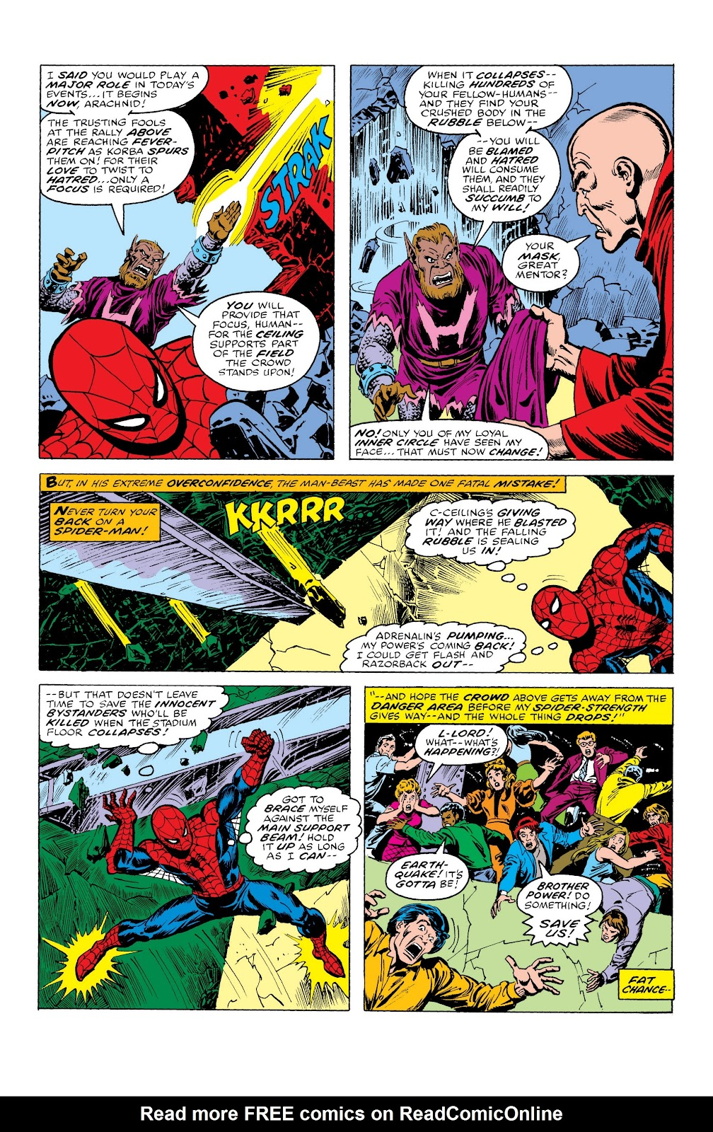 Read online Marvel Masterworks: The Spectacular Spider-Man comic -  Issue # TPB (Part 3) - 51