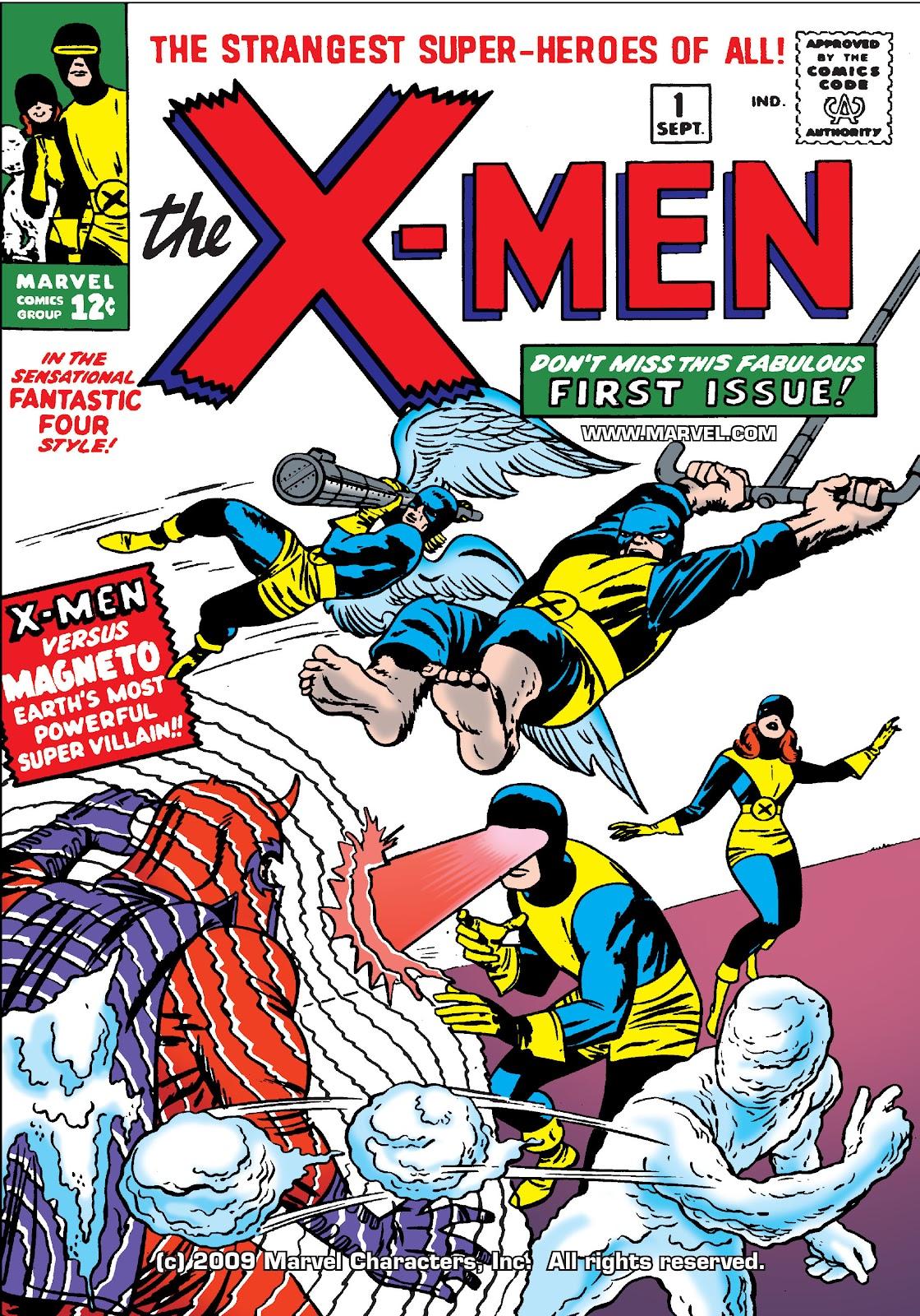 Uncanny X-Men (1963) issue 1 - Page 1