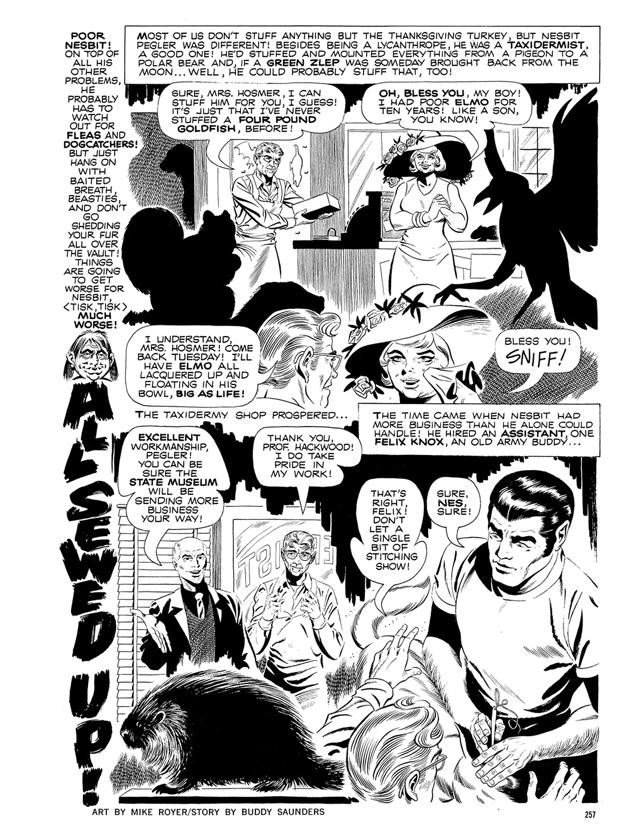 Read online Eerie Archives comic -  Issue # TPB 5 - 258