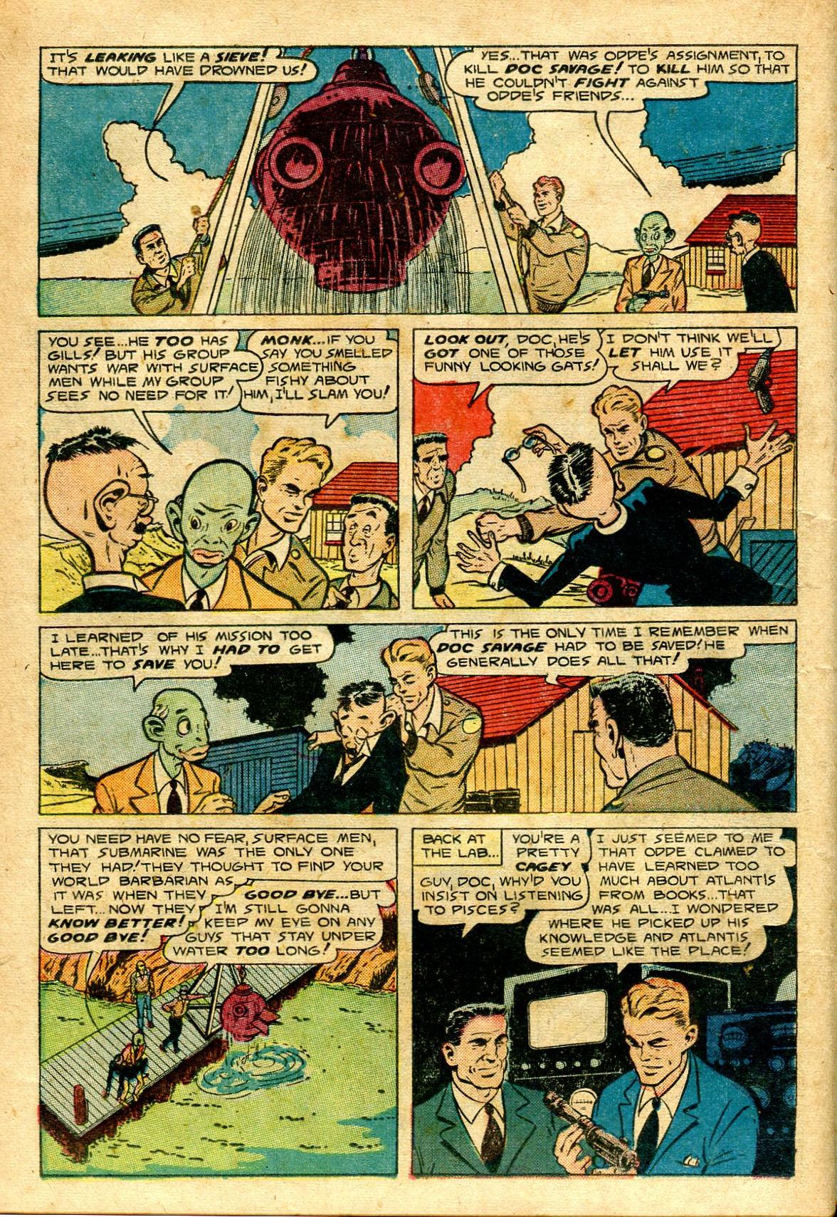 Read online Shadow Comics comic -  Issue #96 - 26
