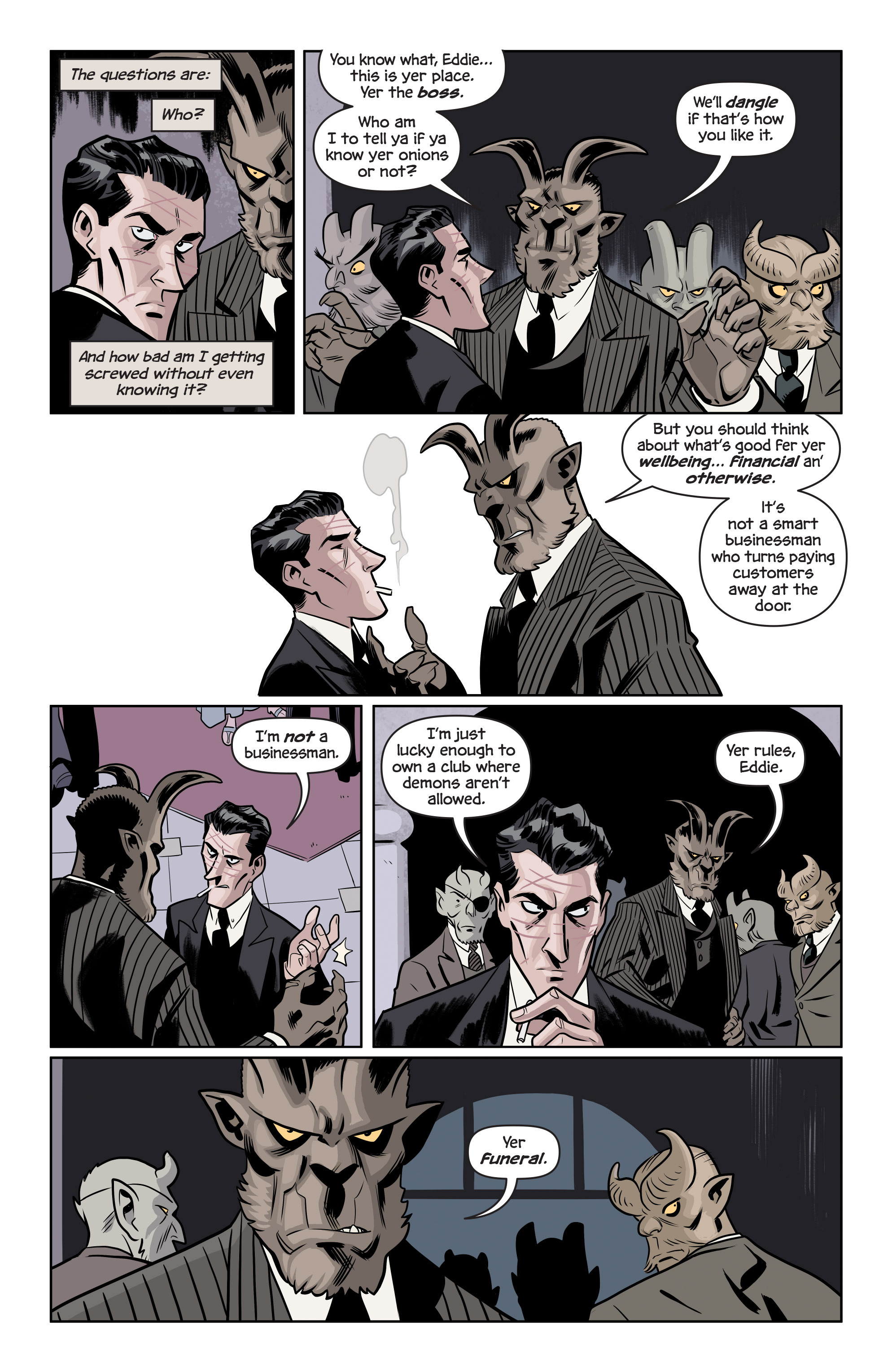 Read online The Damned comic -  Issue #1 - 9
