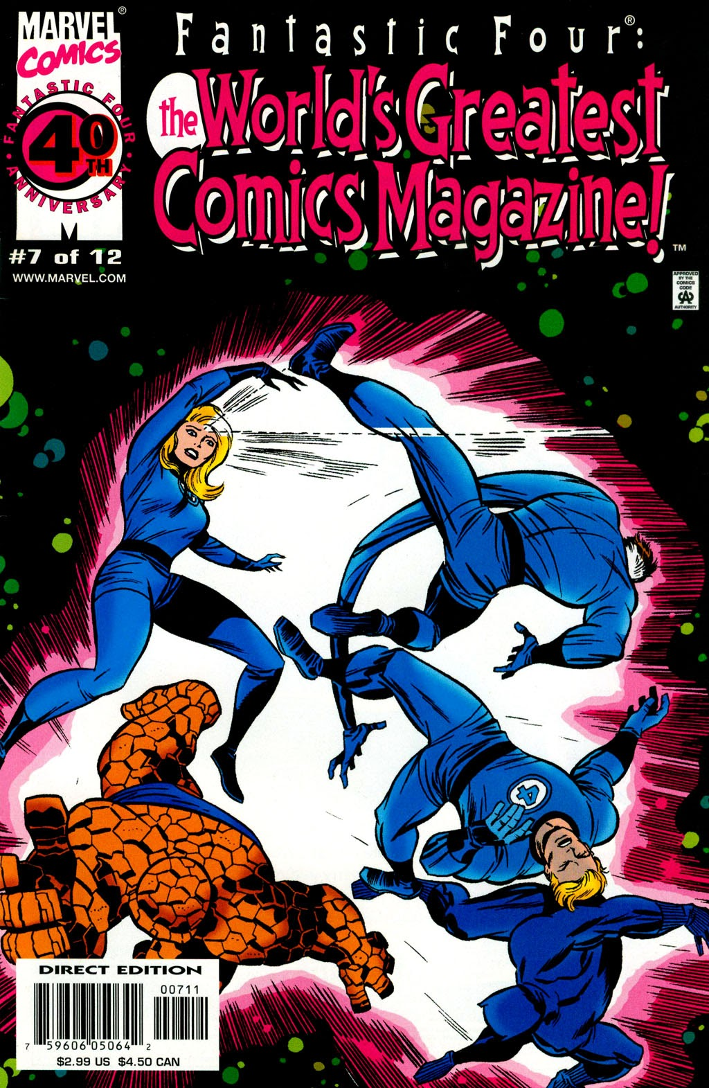 Fantastic Four: Worlds Greatest Comics Magazine 7 Page 1