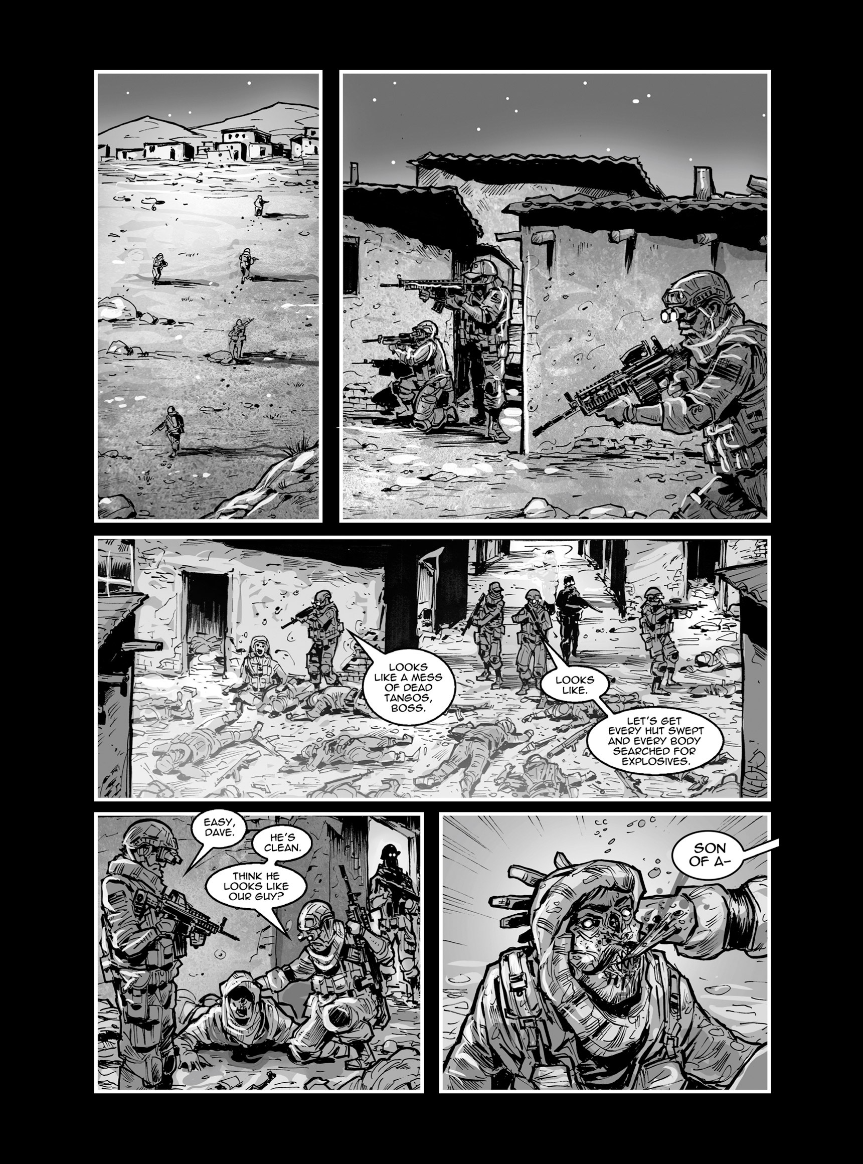 Read online FUBAR comic -  Issue #3 - 369